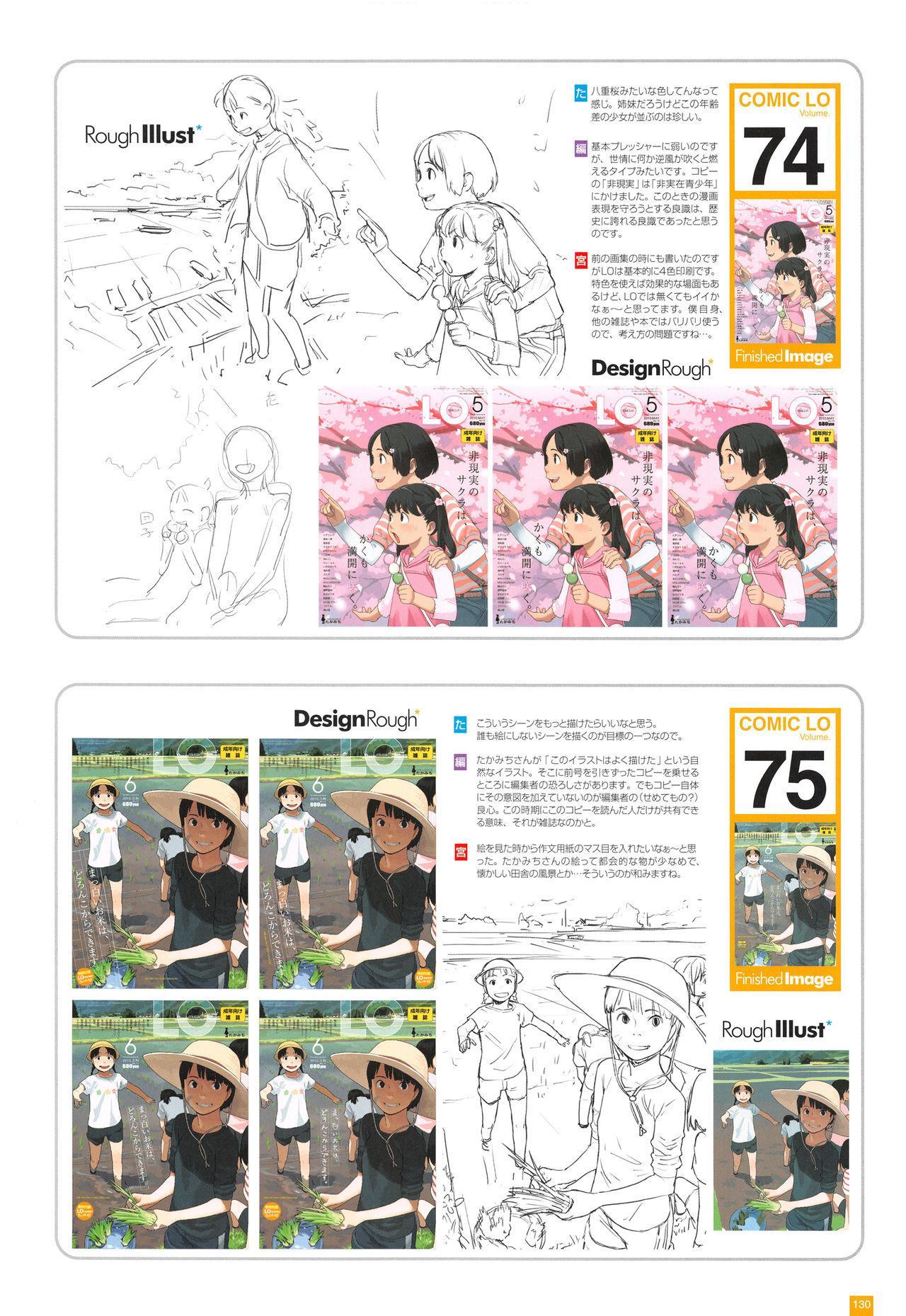 LO Artbook 2-A TAKAMICHI LOOP WORKS 132