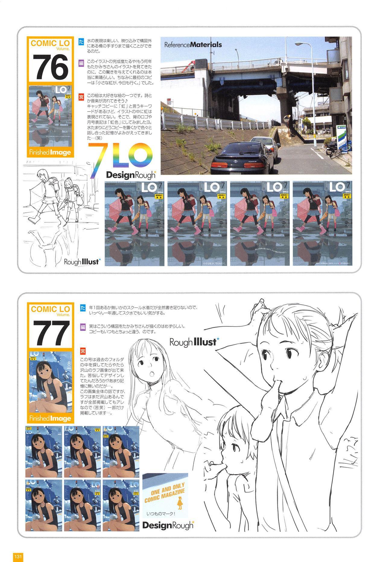 LO Artbook 2-A TAKAMICHI LOOP WORKS 133