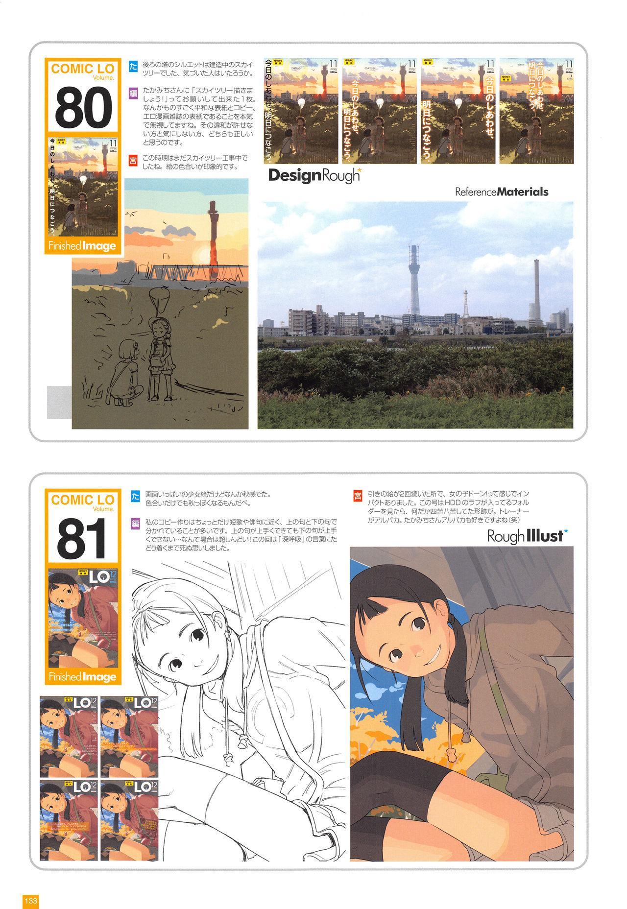 LO Artbook 2-A TAKAMICHI LOOP WORKS 135