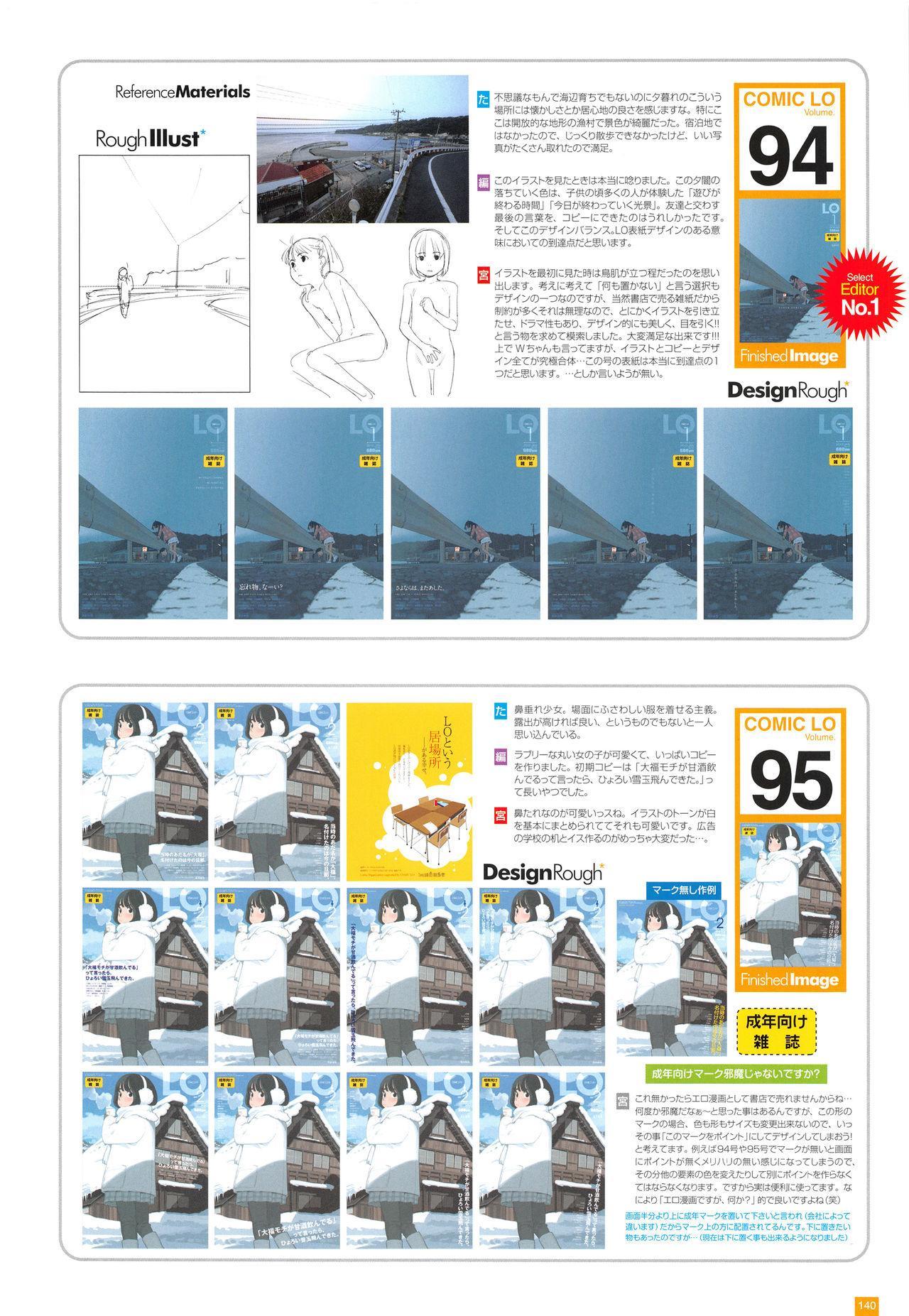 LO Artbook 2-A TAKAMICHI LOOP WORKS 142
