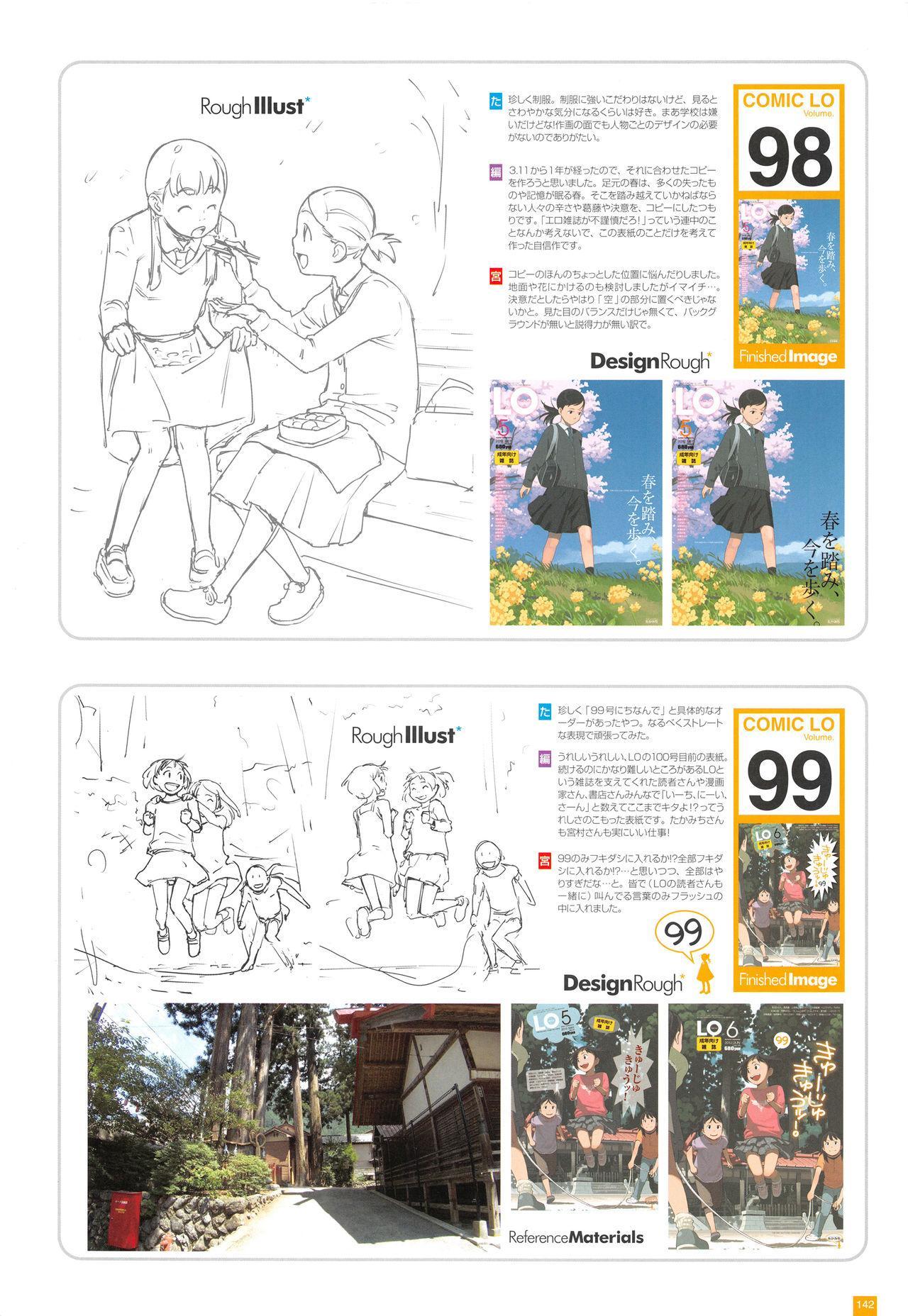 LO Artbook 2-A TAKAMICHI LOOP WORKS 144