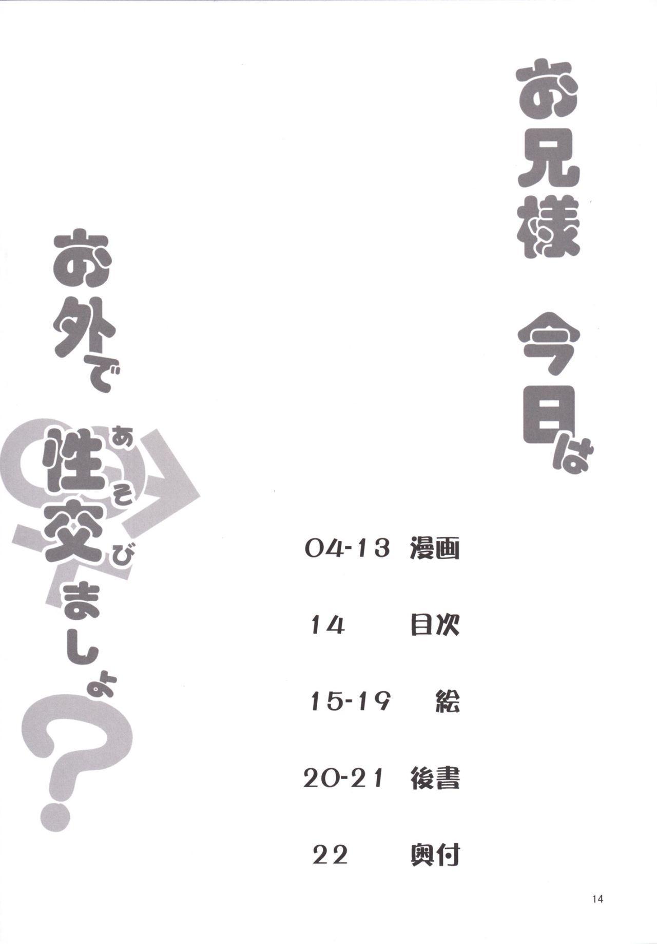 Onii-sama Kyou wa Osoto de Asobimasho? 13