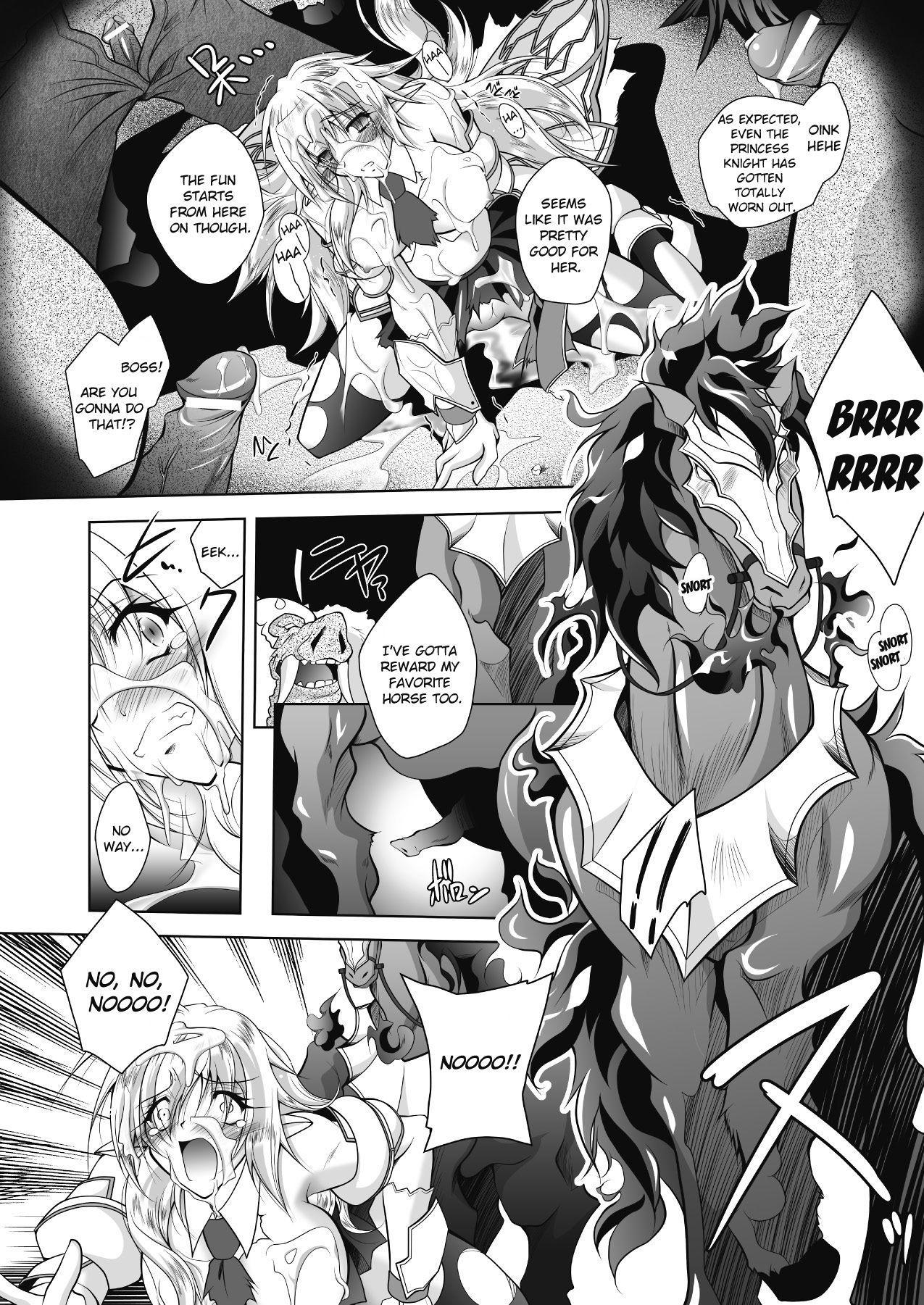 Juuyoku ni Kegareta Erufu Hime Kishi Sefiria | An Elf Sullied by Bestial Lust Princess Knight Sefiria 17