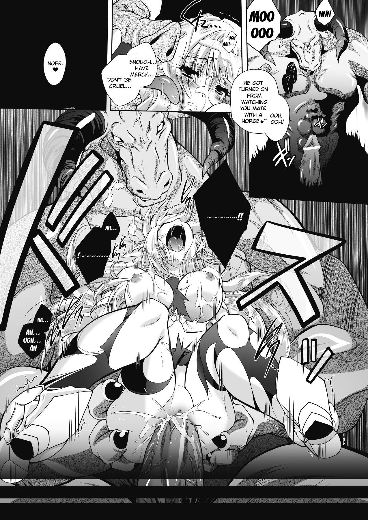 Juuyoku ni Kegareta Erufu Hime Kishi Sefiria | An Elf Sullied by Bestial Lust Princess Knight Sefiria 20