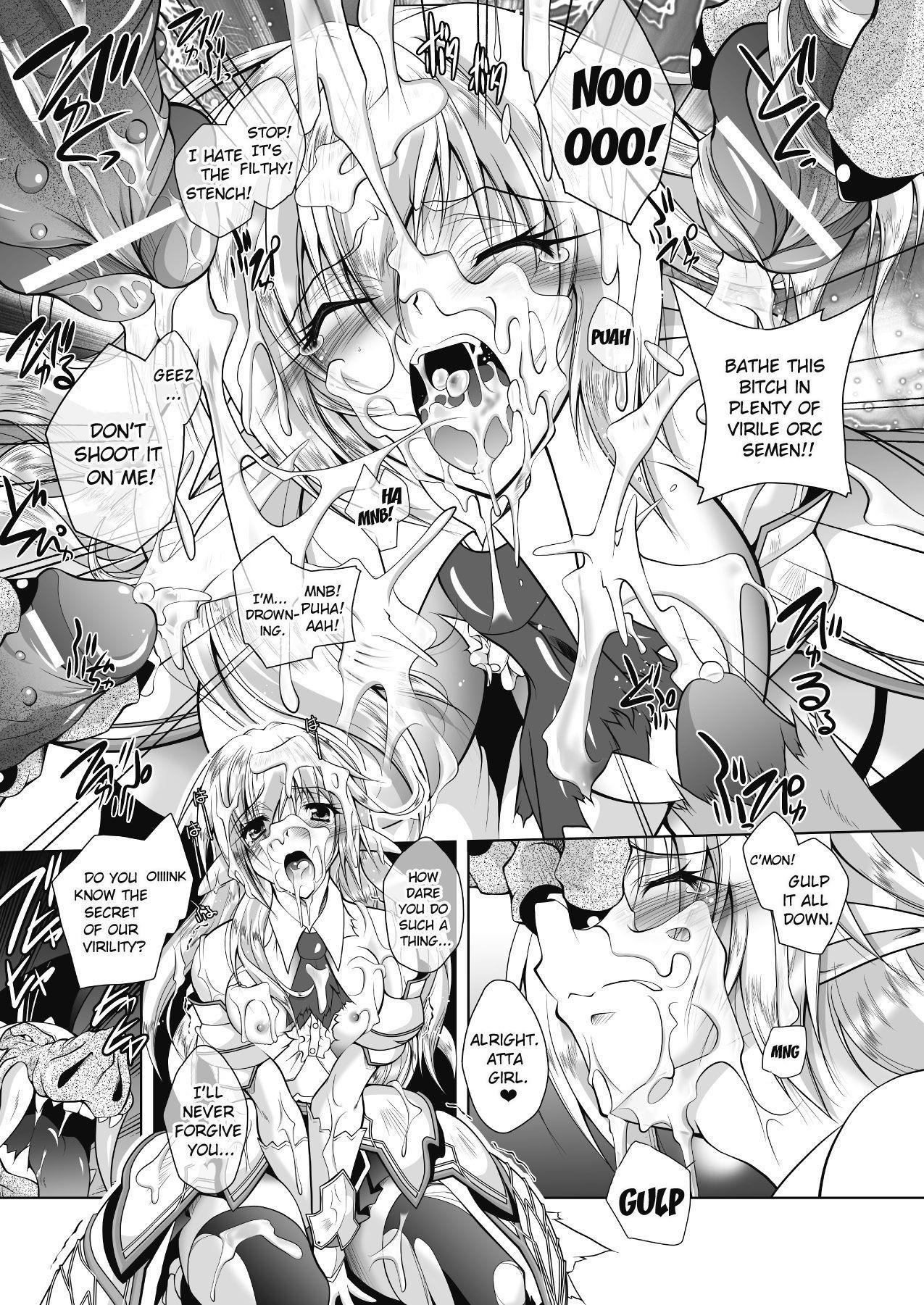 Juuyoku ni Kegareta Erufu Hime Kishi Sefiria | An Elf Sullied by Bestial Lust Princess Knight Sefiria 8