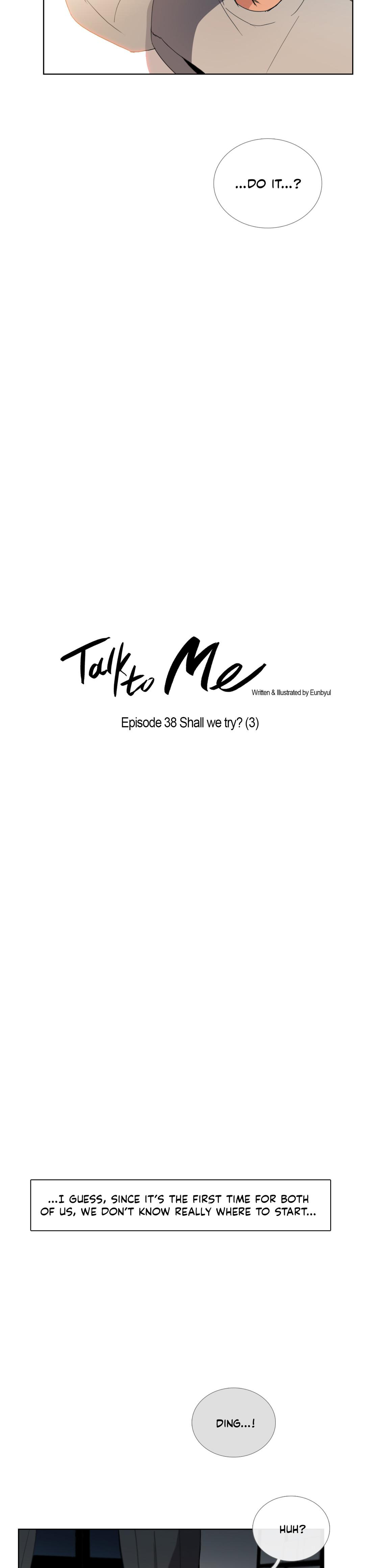 Talk To Me Ch.1-38 608