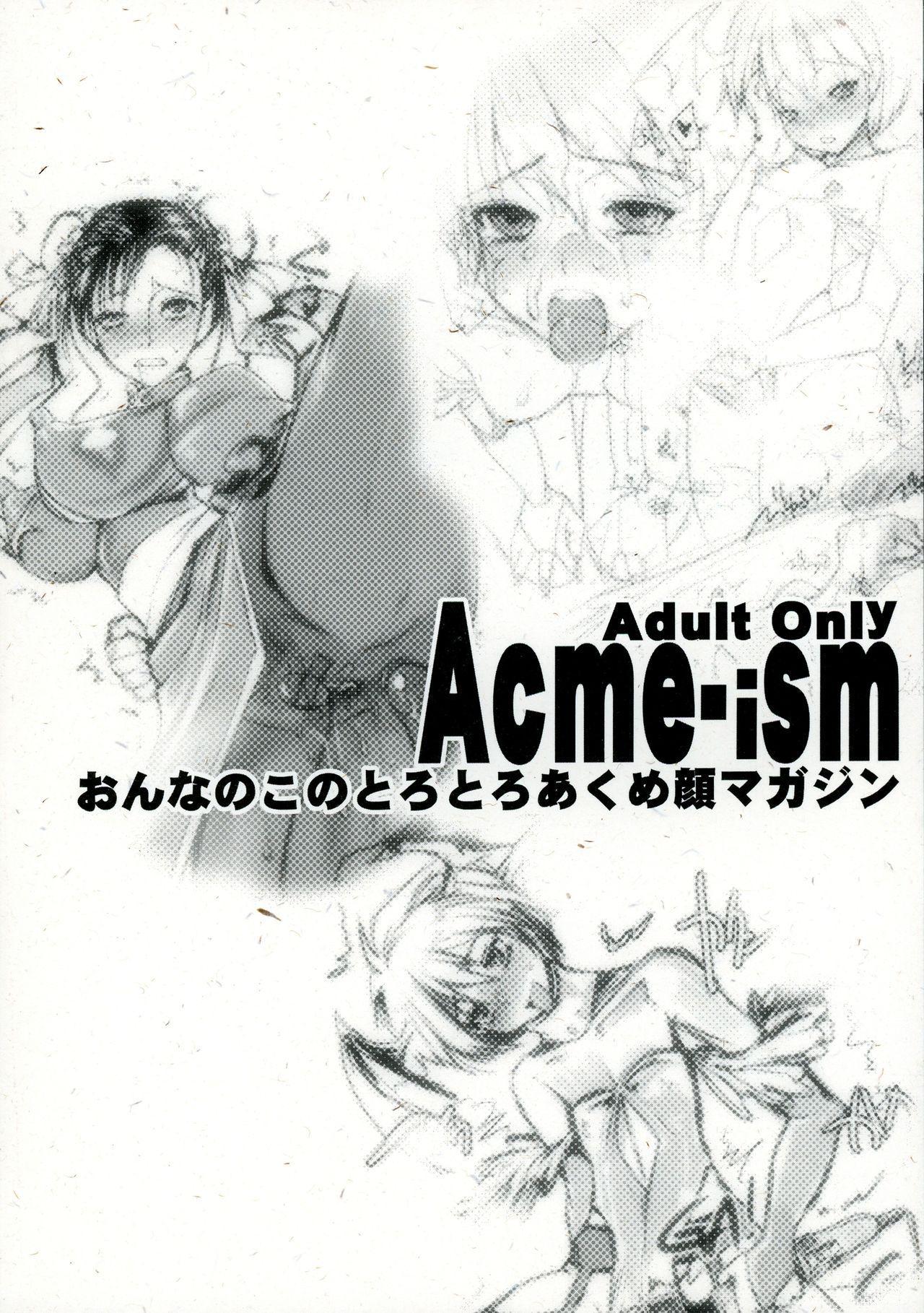 Acme-ism Onnanoko no Torotoro Acmegao Magazine 1