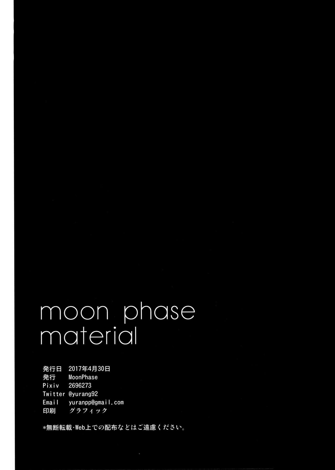 moon phase material 24