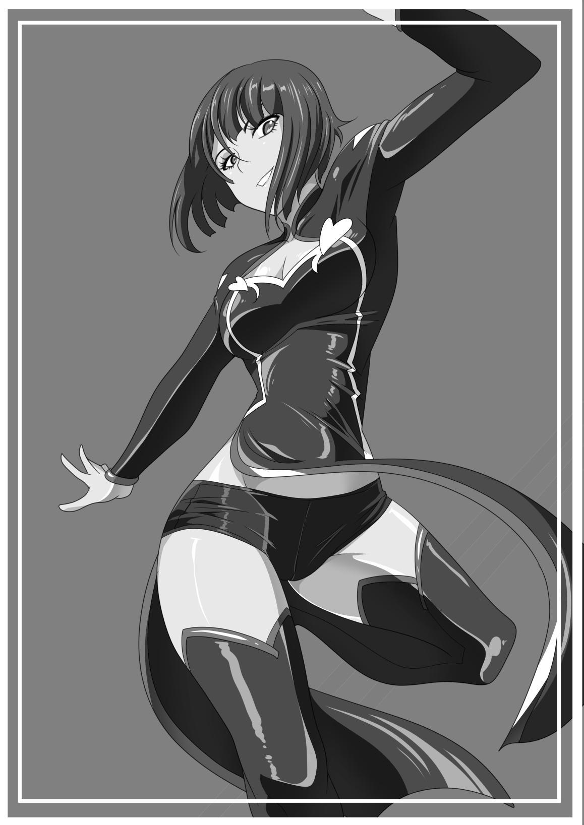 Heroine Harassment Junketsu no Taimashi Akina Zenpen   Heroine Harassment - Magician Akina's Chastity Part I 1