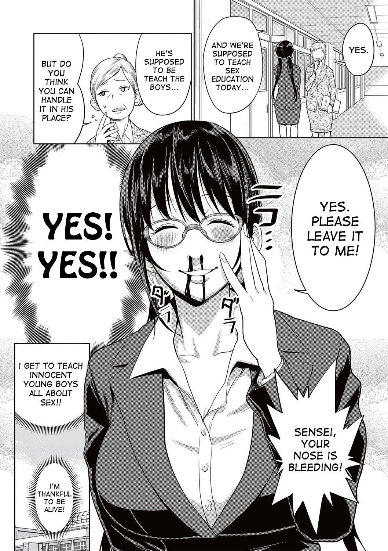 [Agata] Yarisugi Seikyouiku! ~Hentai Onna Kyoushi Kikiippatsu~ | Sex Education That Went Too Far (COMIC Shingeki 2017-05) [English] [desudesu] [Digital] 3