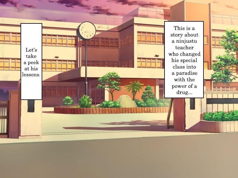 [Sakura no Hanabira (Kurumi Riko)] Sensei ga Bakunyuu Joshikousei-tachi to Love Love Rankou Dekitawake   Why sensei was able to have a consensual orgy with huge-breasted female students (Senran Kagura) [English] [Trinity Translations Team] [Digital] 6