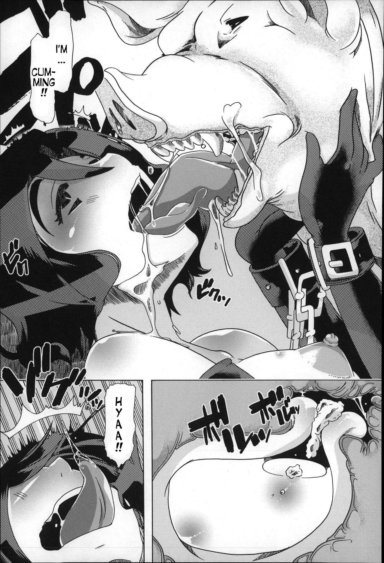 [Chikiko] Juukan - Tonkatsu   Bestiality - Pork Life (Cutlet) (Juukan Nikubenki Kasumi) [English] [Neeko7] 22
