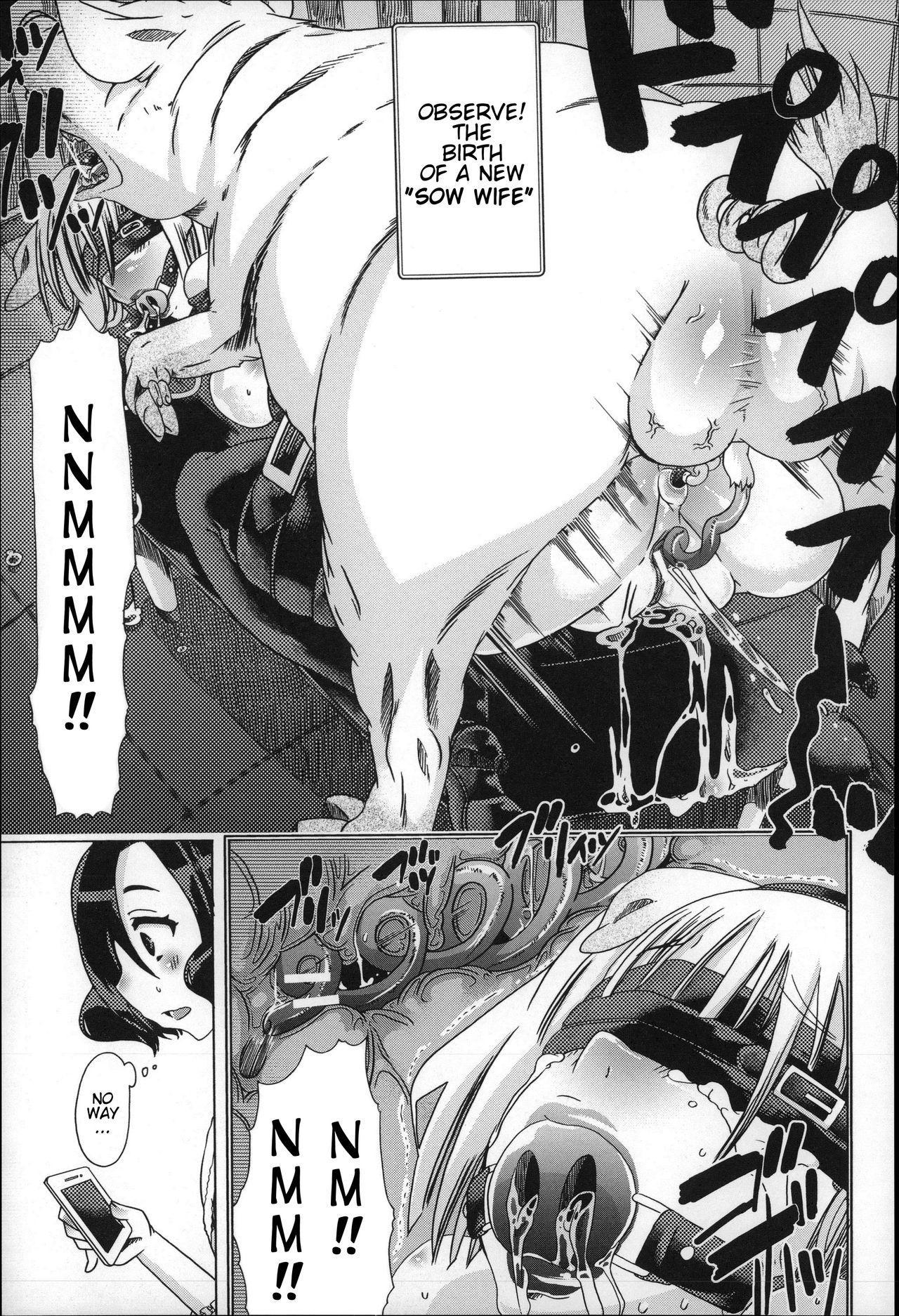 [Chikiko] Juukan - Tonkatsu   Bestiality - Pork Life (Cutlet) (Juukan Nikubenki Kasumi) [English] [Neeko7] 6