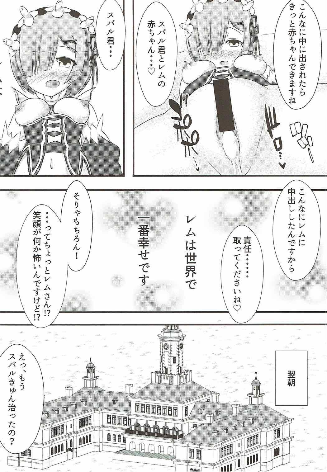 Subaru-kun wa Rem ga Nagusamete Agemasu 18