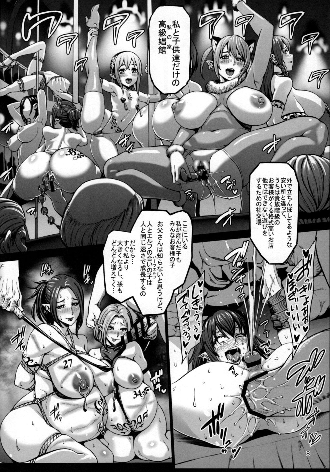 Houjou no Reizoku Elf 3 8