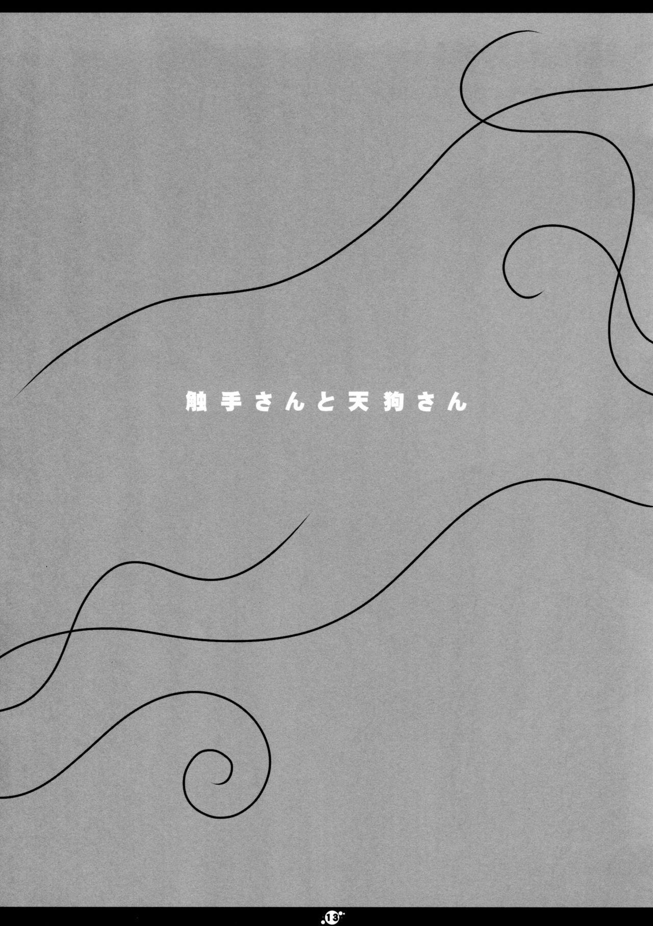 (Reitaisai 8) [Hoshidokei (Hiyoko.)] Shokushu-san to Tengu-san (Touhou Project) 14