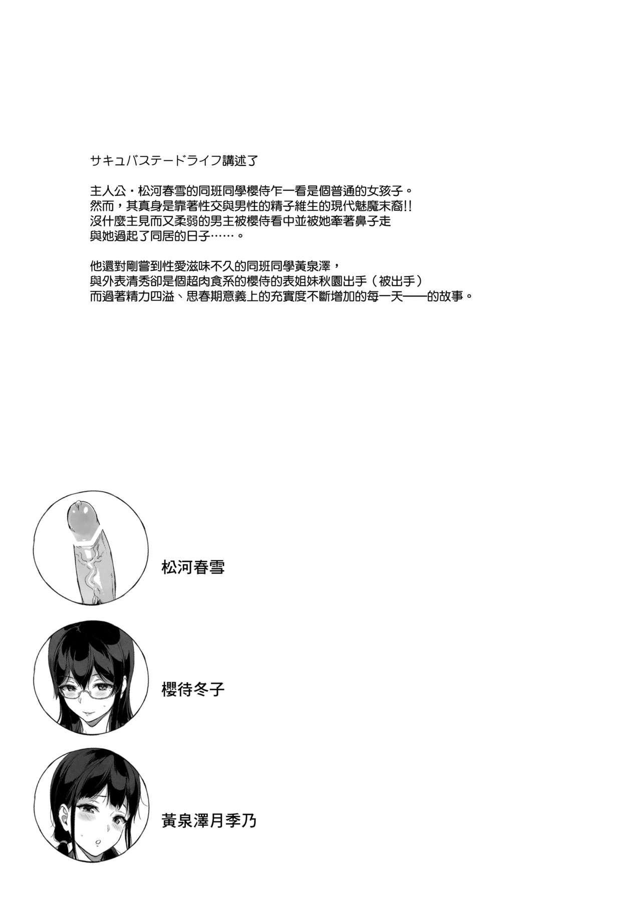[NANIMOSHINAI (Sasamori Tomoe)] TTH-Succubus Stayed Life Yomisawa-san no Yuuwaku Ecchi Hen [Chinese] [無邪気漢化組] 1