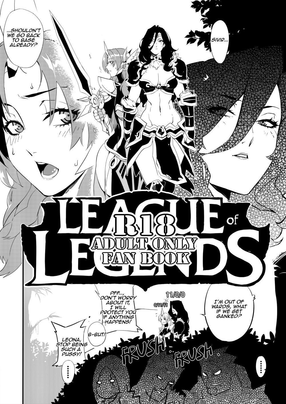 Leona ★ Heroes - League of Legends Fan Book 4