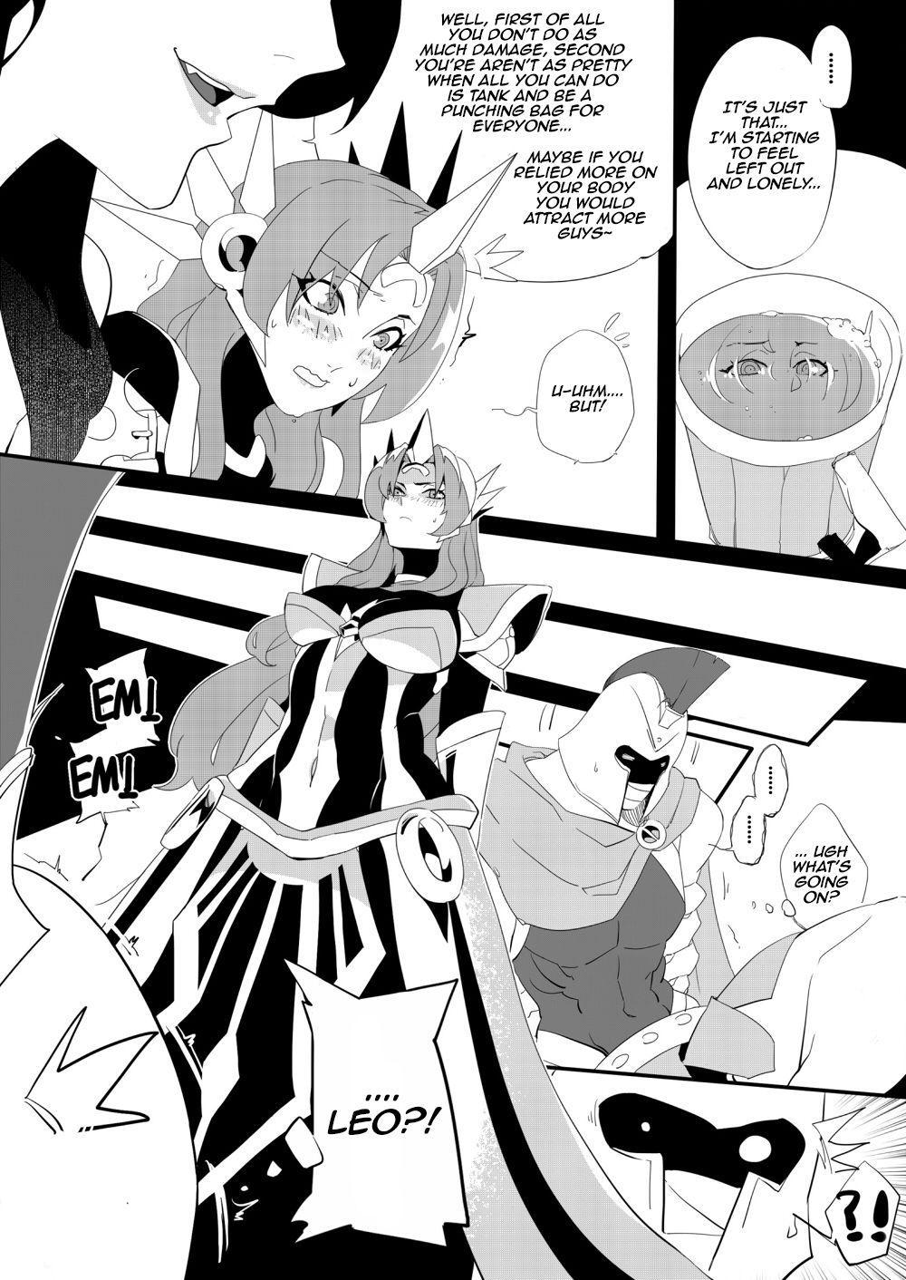 Leona ★ Heroes - League of Legends Fan Book 8