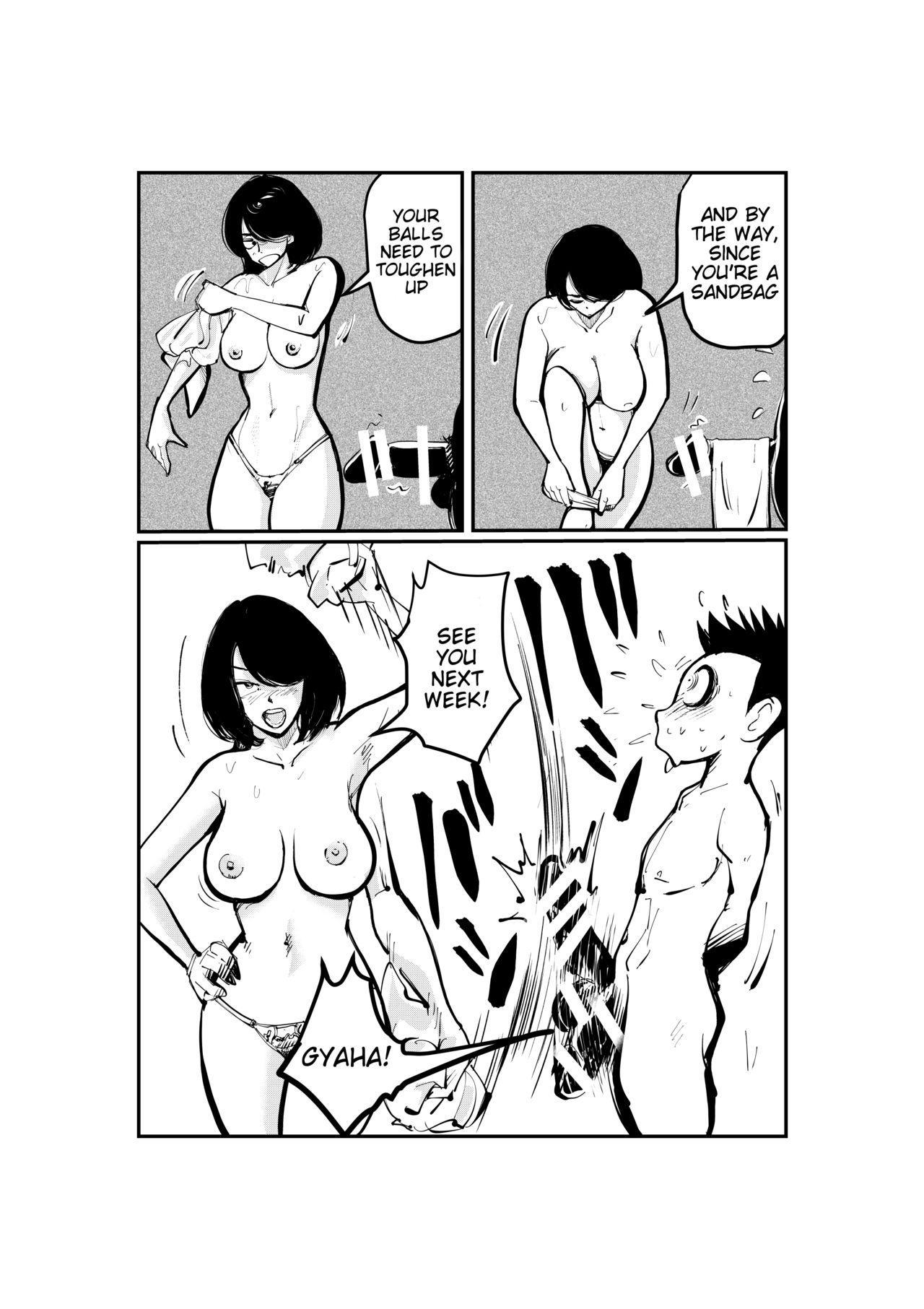 [Pecan (Makunouchi)] Kinkeri Madam   Kick-in-the-Balls Madam [English] [Tigoris Translates] 8