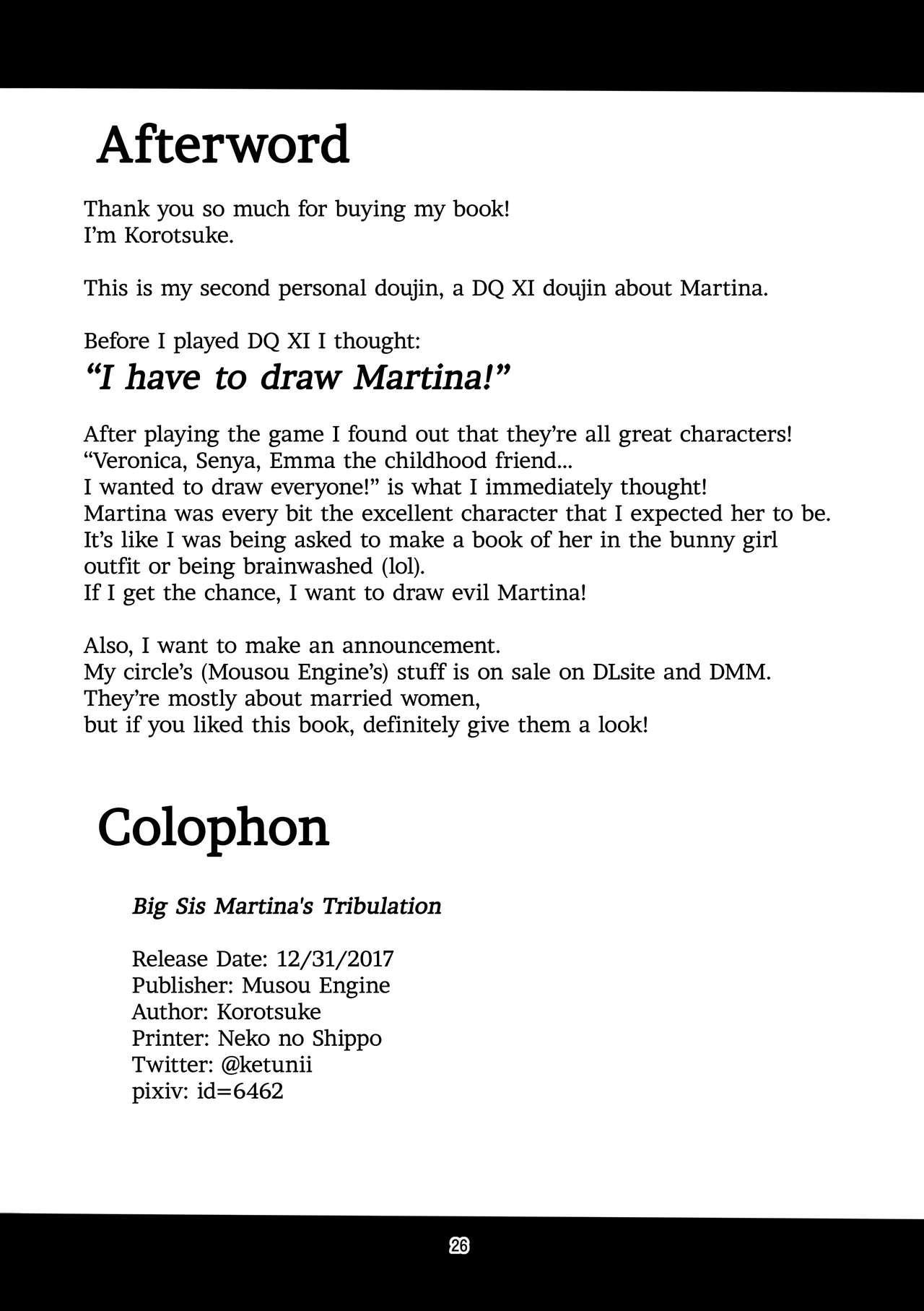 Martina Onee-chan no Junan   Big Sis Martina's Tribulation 24