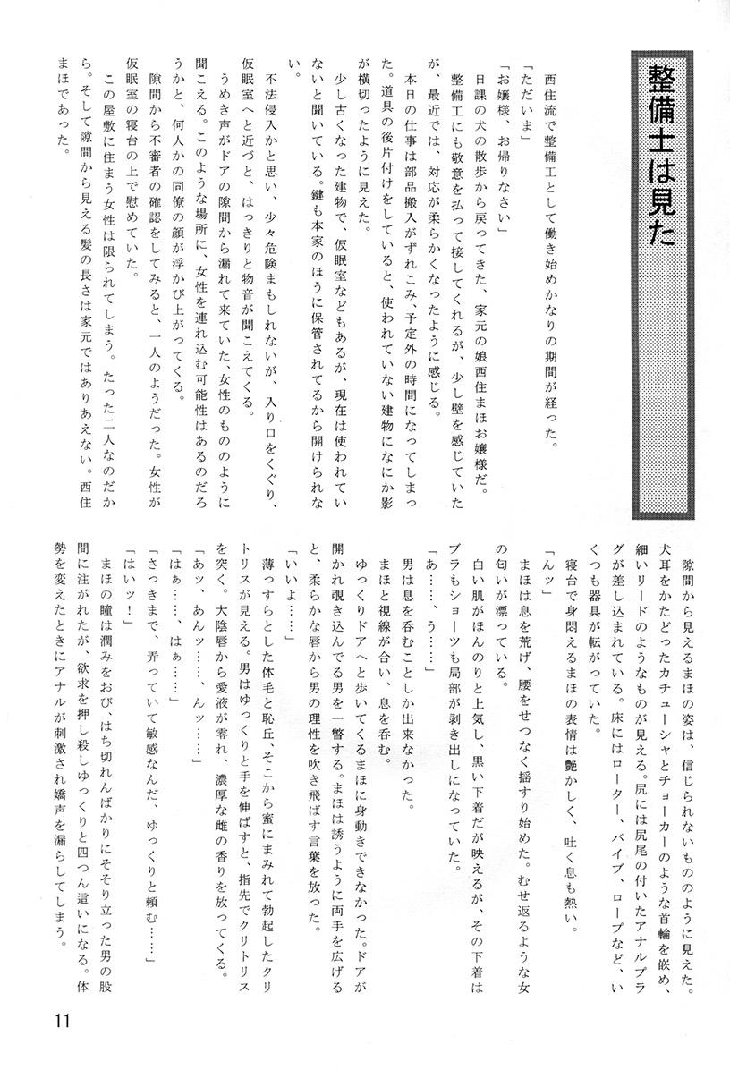 Himitsu no Nishizumi-ryuu 11