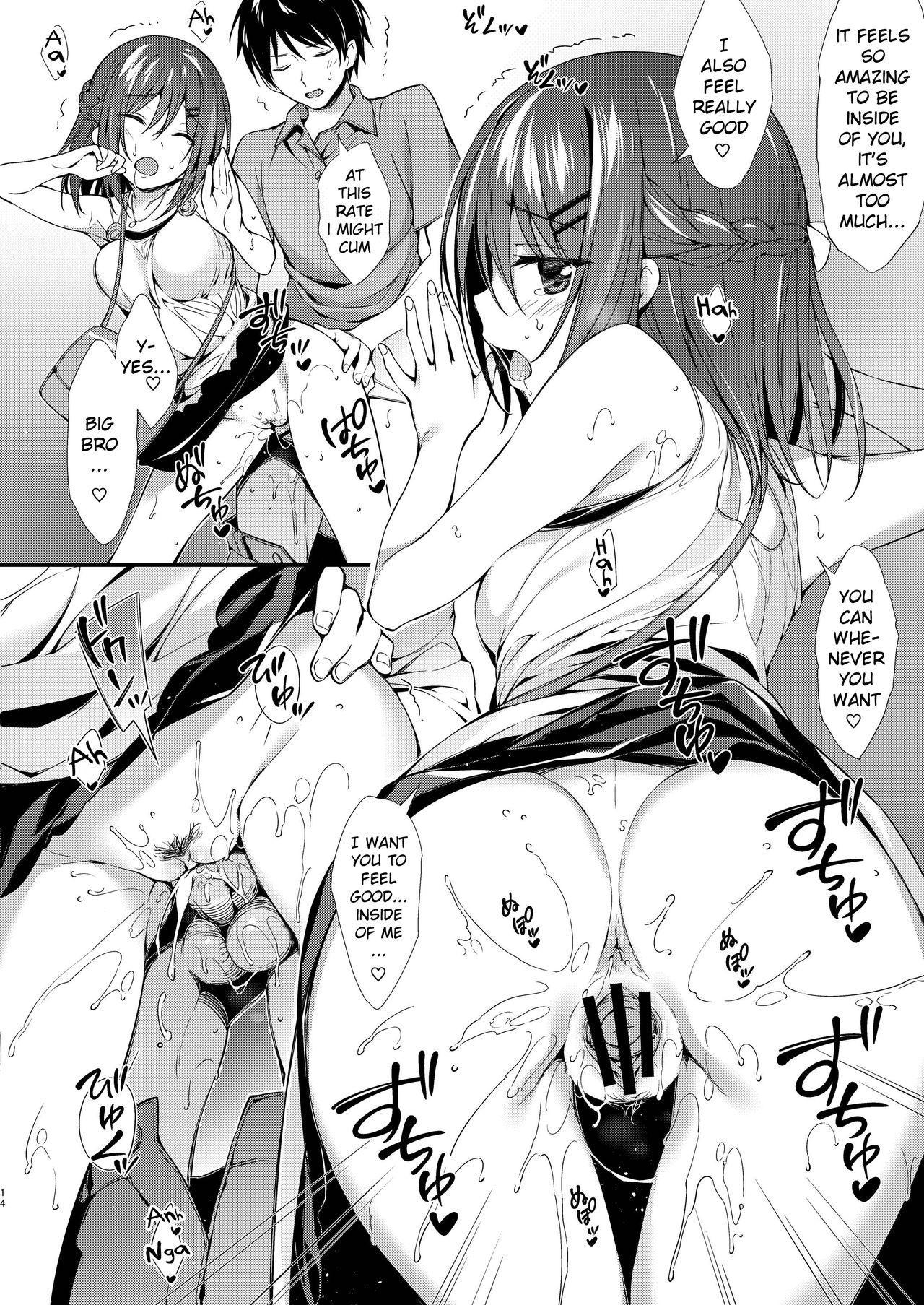 Watashi wa Onii-chan to Tsukiaitai. 12