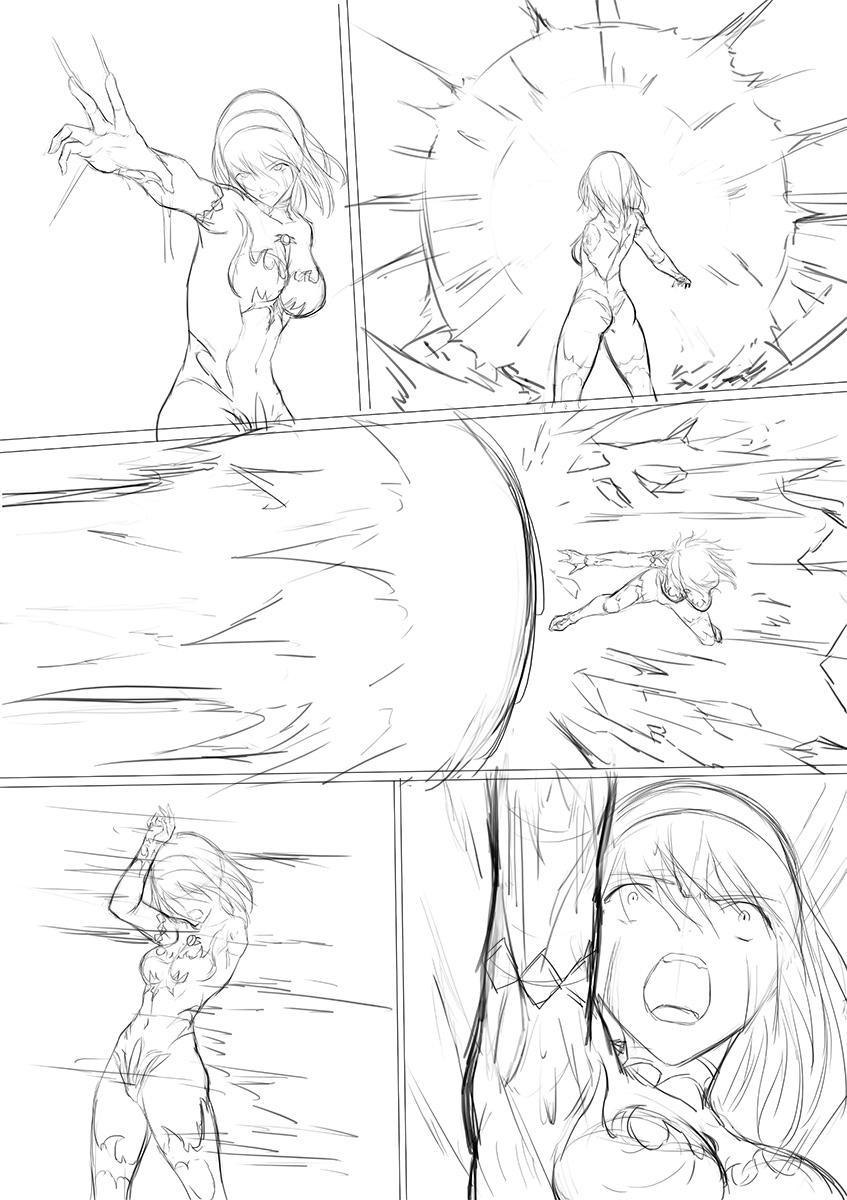 Main story of Ultra-Girl Sophie 77