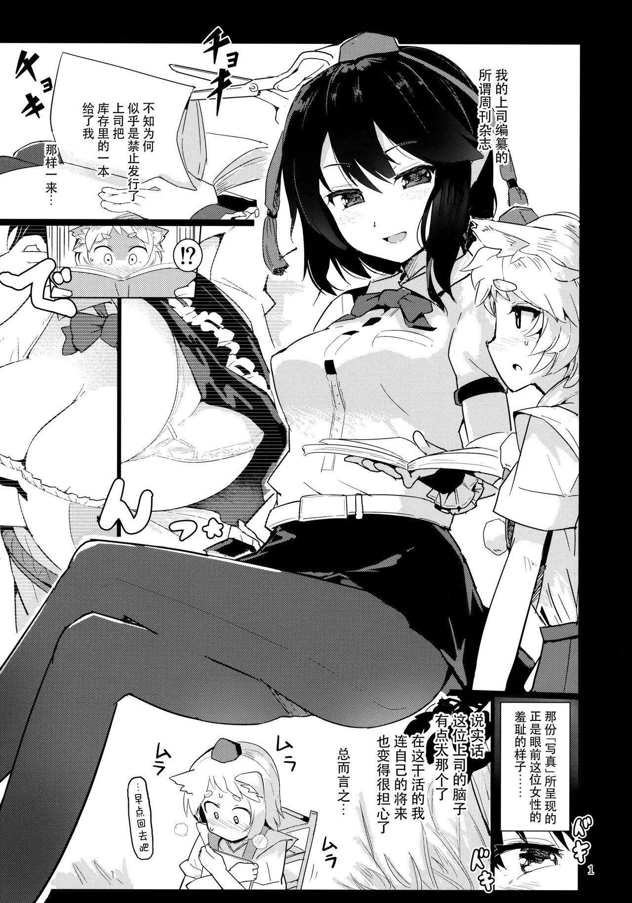 Shameimaru Aya no Appaku Shuzai Ge 2