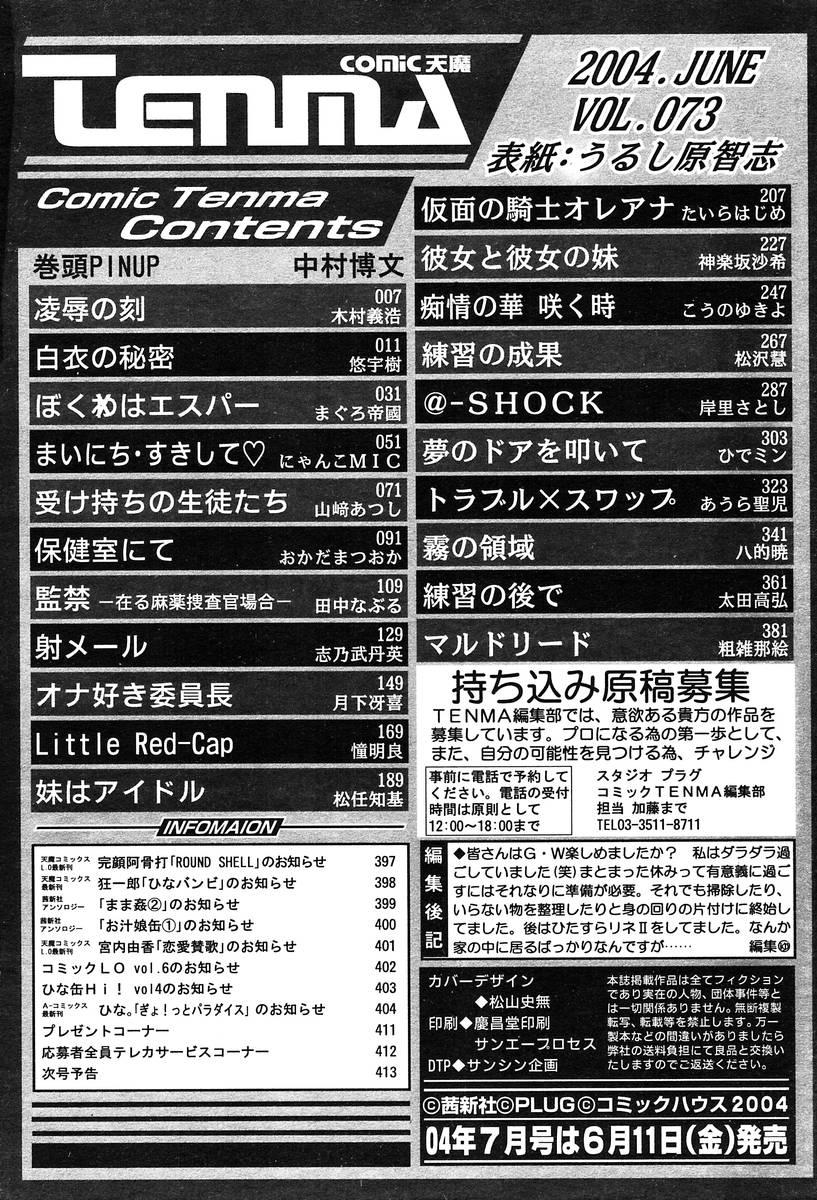 COMIC TENMA 2004-06 410