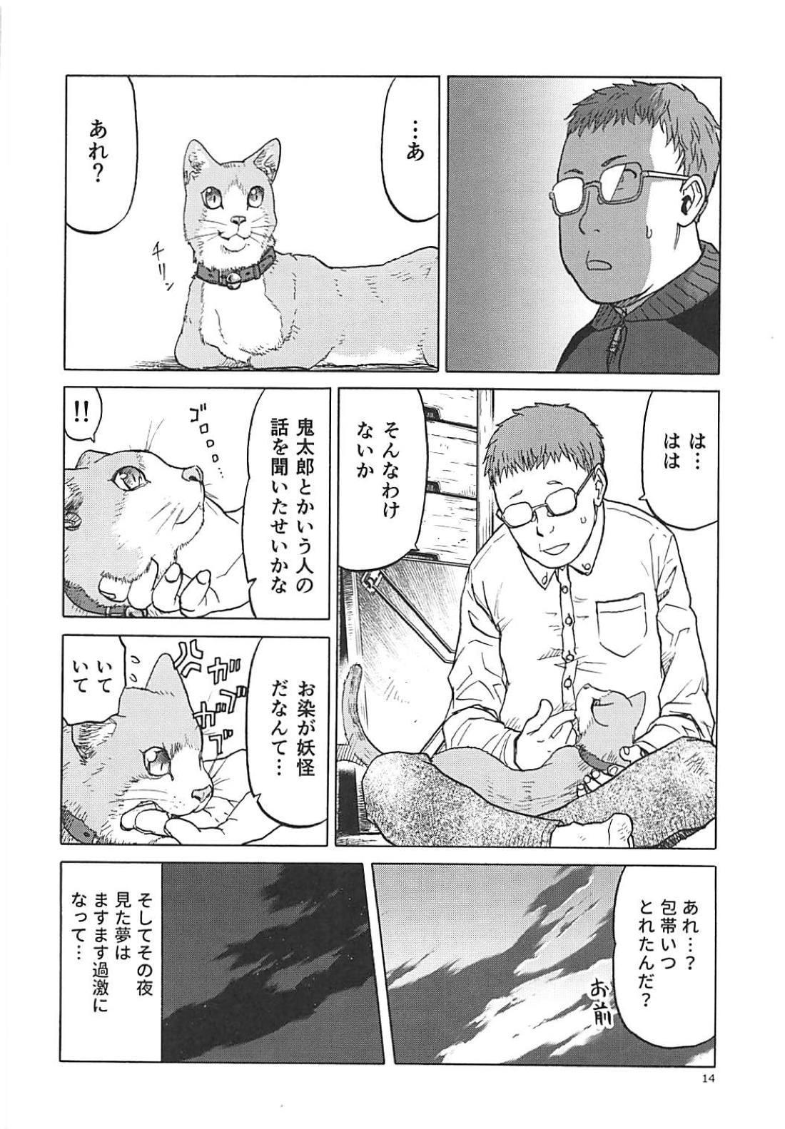 (C94) [Wakuwaku Doubutsuen (Tennouji Kitsune)] Neko (Musume) no Kimochi (Gegege no Kitarou) 12