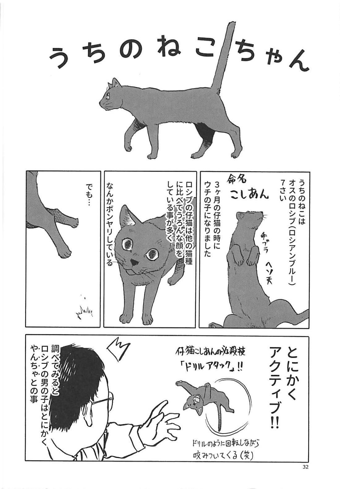 (C94) [Wakuwaku Doubutsuen (Tennouji Kitsune)] Neko (Musume) no Kimochi (Gegege no Kitarou) 30