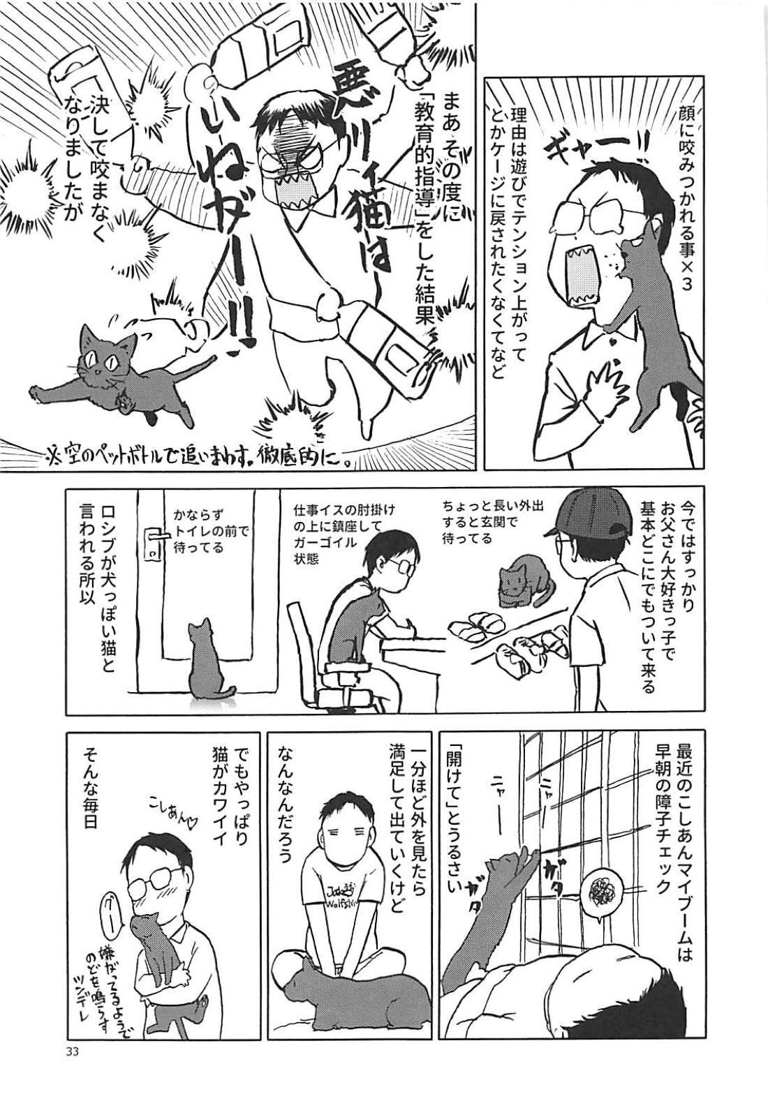 (C94) [Wakuwaku Doubutsuen (Tennouji Kitsune)] Neko (Musume) no Kimochi (Gegege no Kitarou) 31