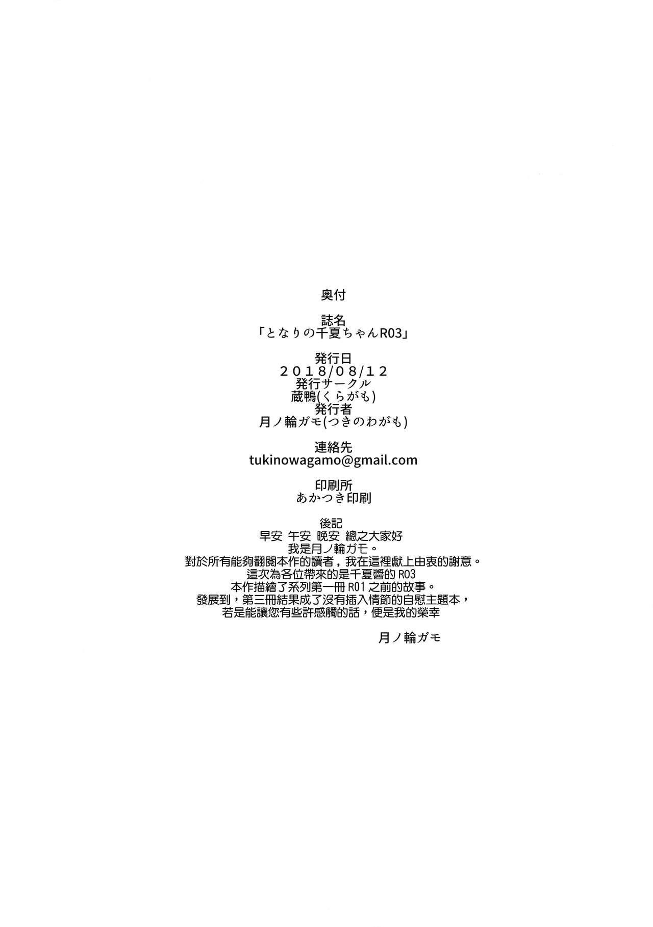 Tonari no Chinatsu-chan R 03 25