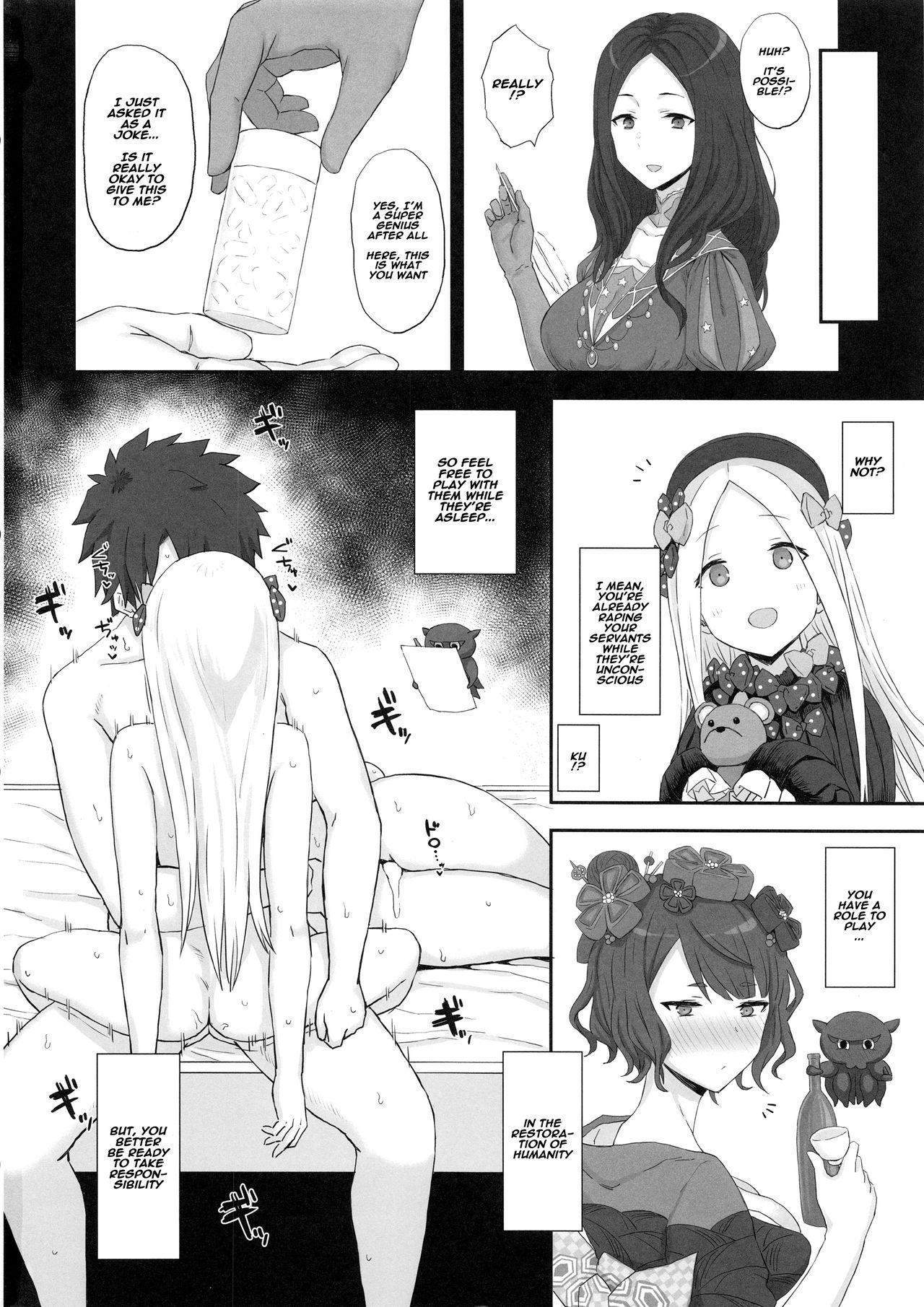 Foreigner ga Neteru Aida ni Sukikatte Suru Kuzu Master 12