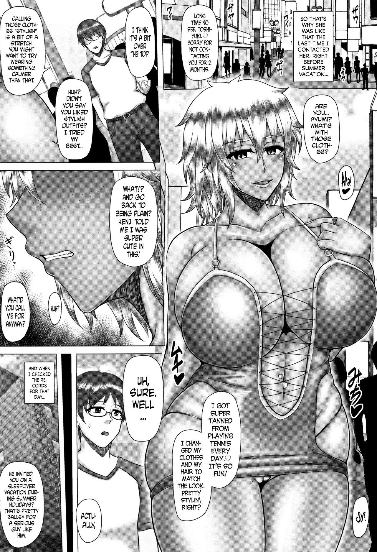 [Inoue Nanaki] Joushiki Daha! Kuro Gal Bitch-ka Seikatsu Ch. 1-3, 5-8 [English] [Dark Mac + N04h] 12
