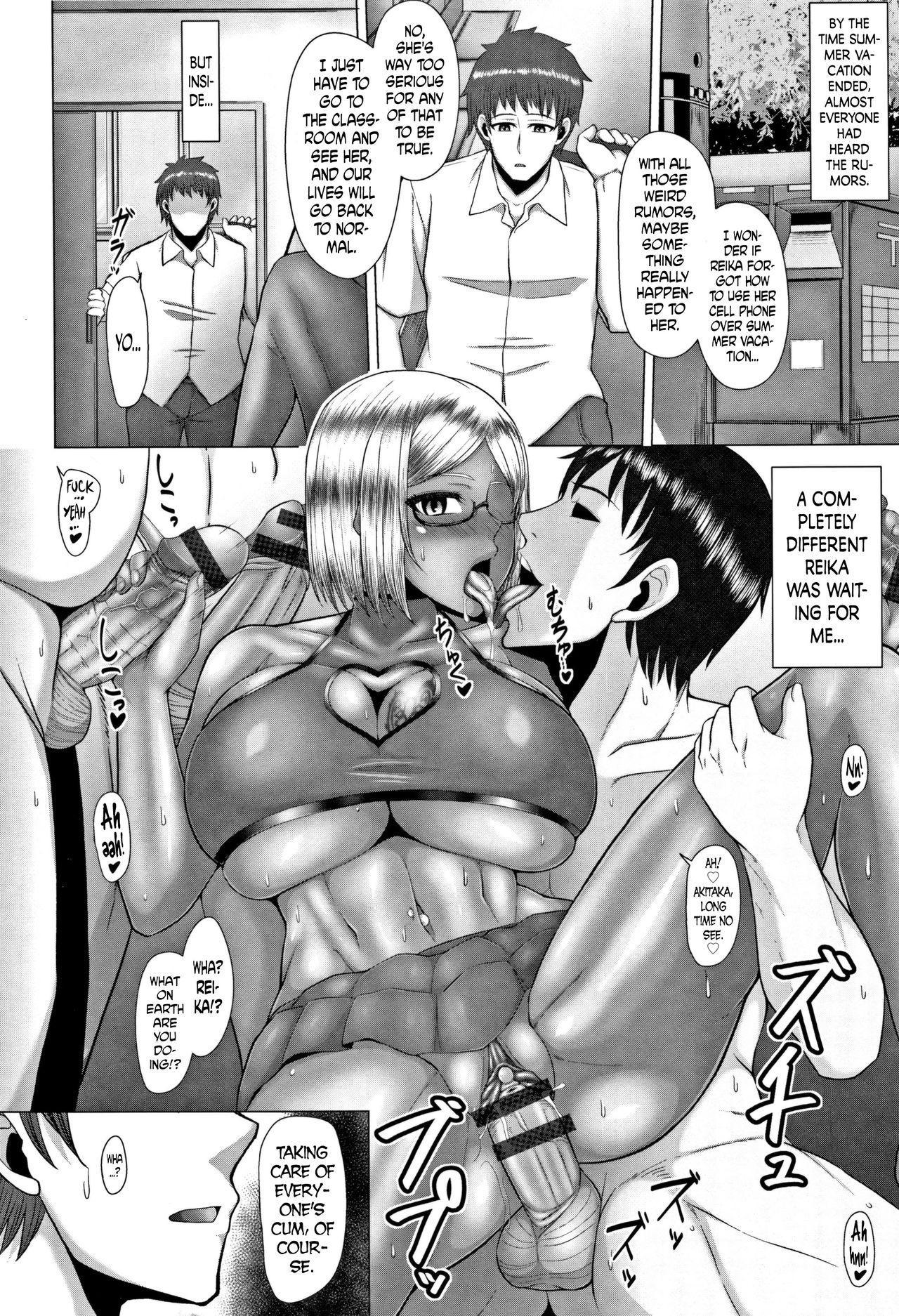 [Inoue Nanaki] Joushiki Daha! Kuro Gal Bitch-ka Seikatsu Ch. 1-3, 5-8 [English] [Dark Mac + N04h] 135