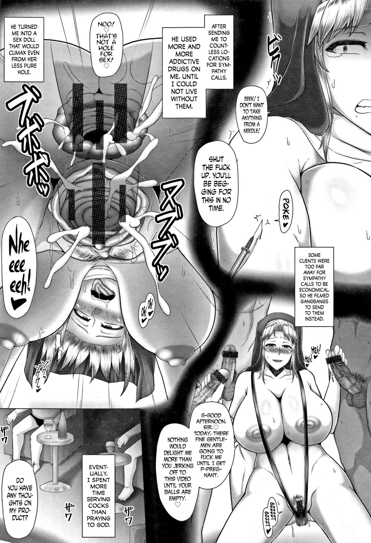 [Inoue Nanaki] Joushiki Daha! Kuro Gal Bitch-ka Seikatsu Ch. 1-3, 5-8 [English] [Dark Mac + N04h] 50