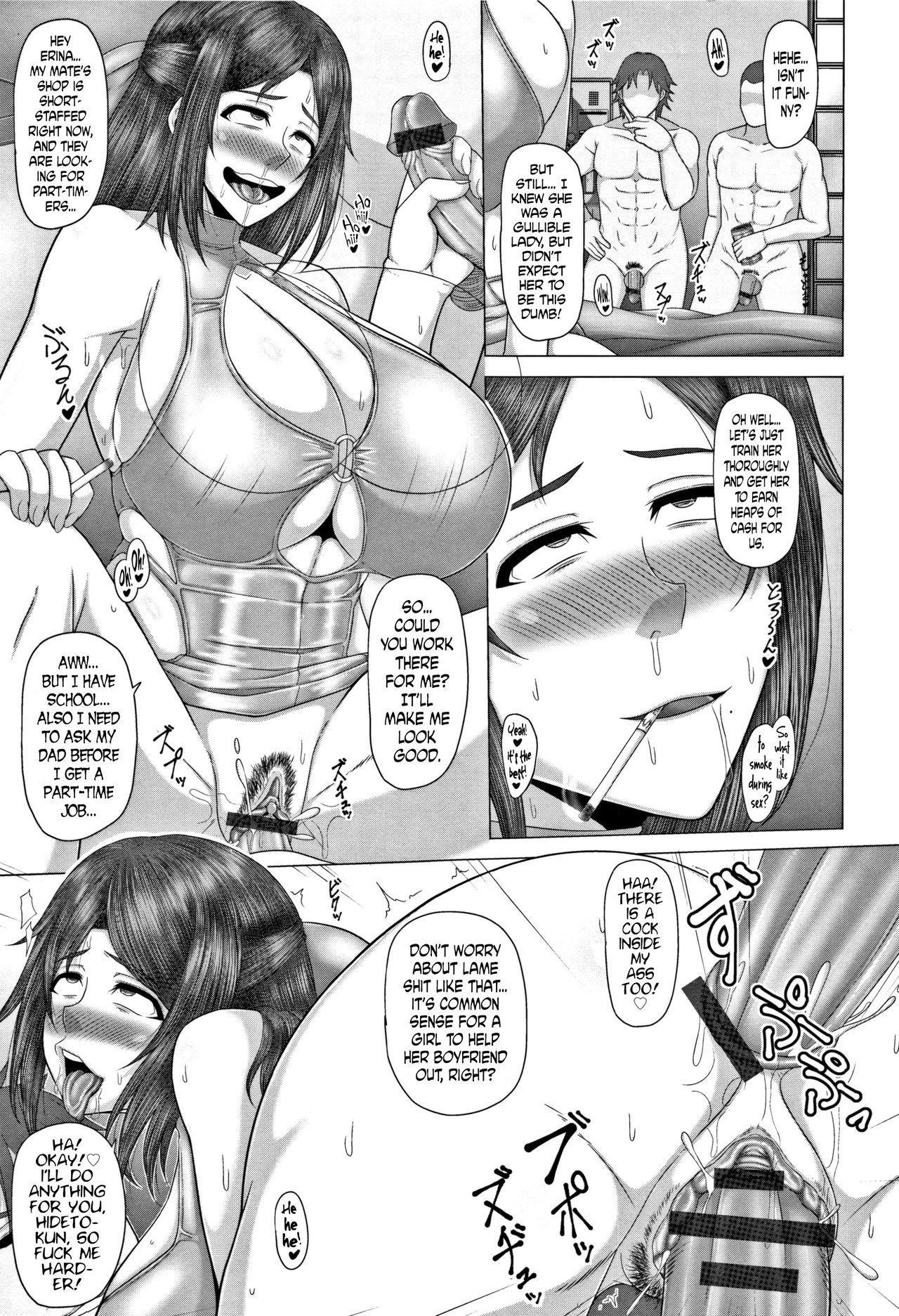 [Inoue Nanaki] Joushiki Daha! Kuro Gal Bitch-ka Seikatsu Ch. 1-3, 5-8 [English] [Dark Mac + N04h] 70