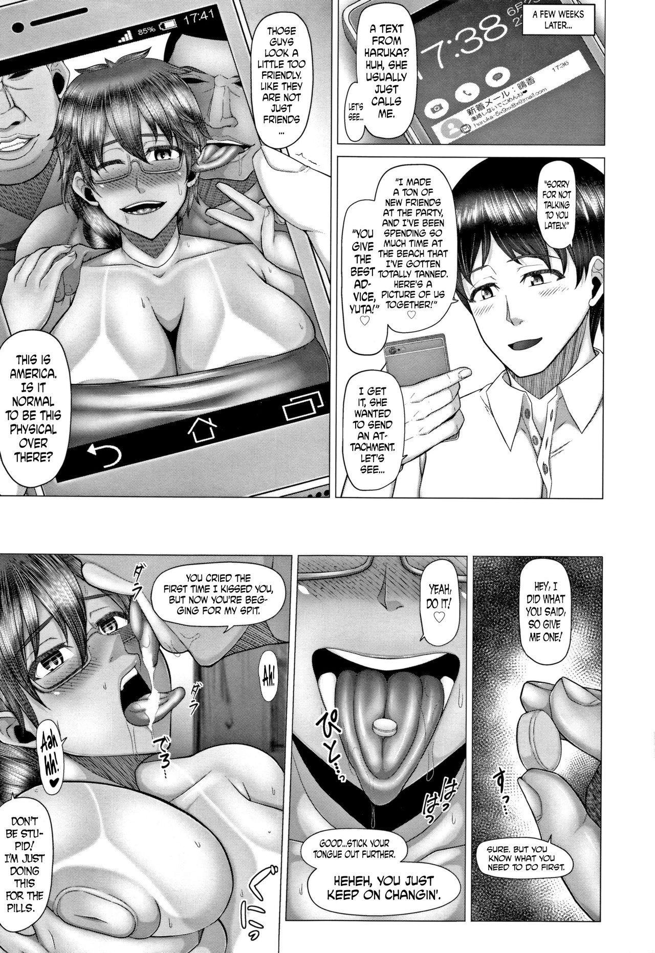 [Inoue Nanaki] Joushiki Daha! Kuro Gal Bitch-ka Seikatsu Ch. 1-3, 5-8 [English] [Dark Mac + N04h] 88