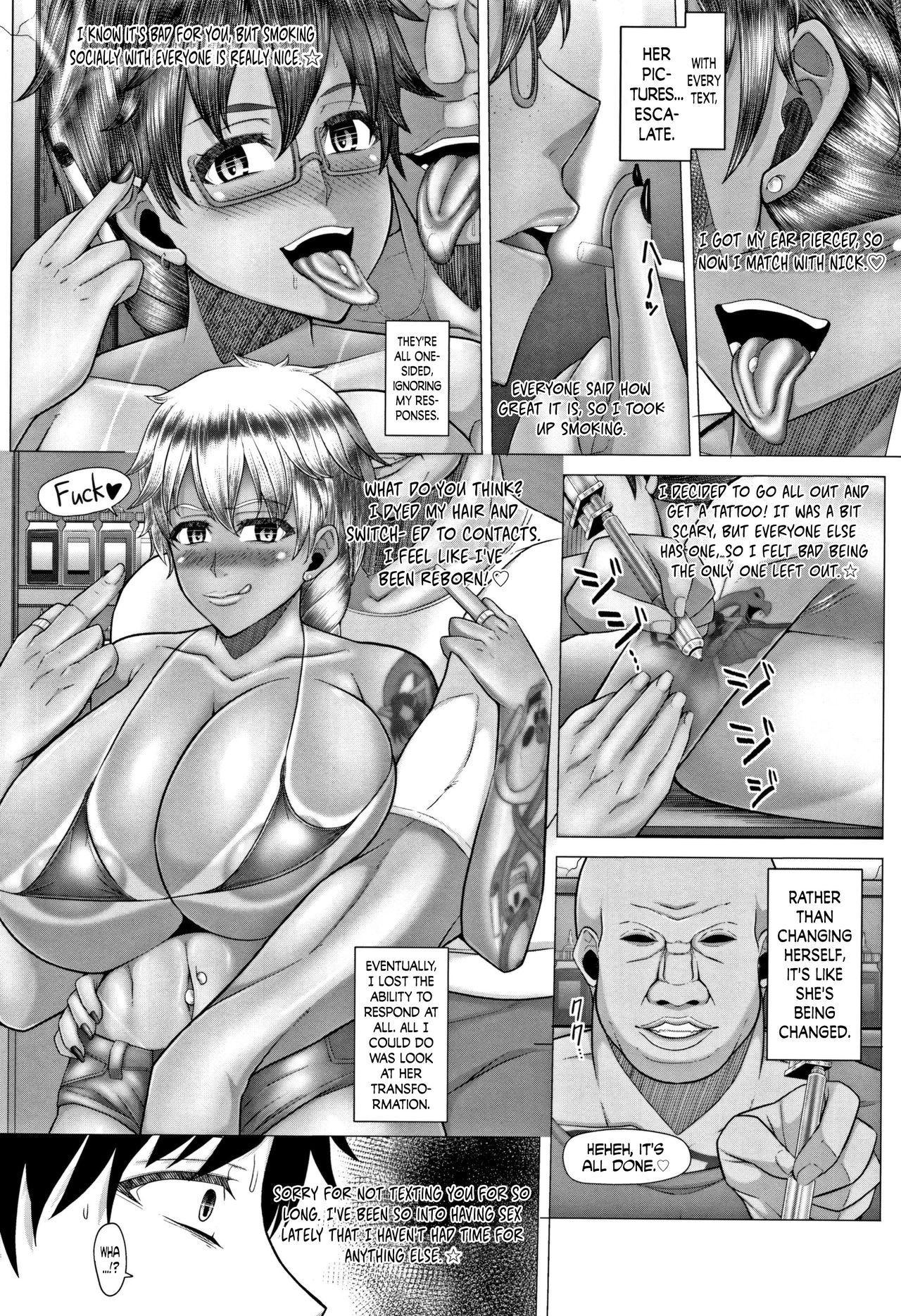 [Inoue Nanaki] Joushiki Daha! Kuro Gal Bitch-ka Seikatsu Ch. 1-3, 5-8 [English] [Dark Mac + N04h] 91