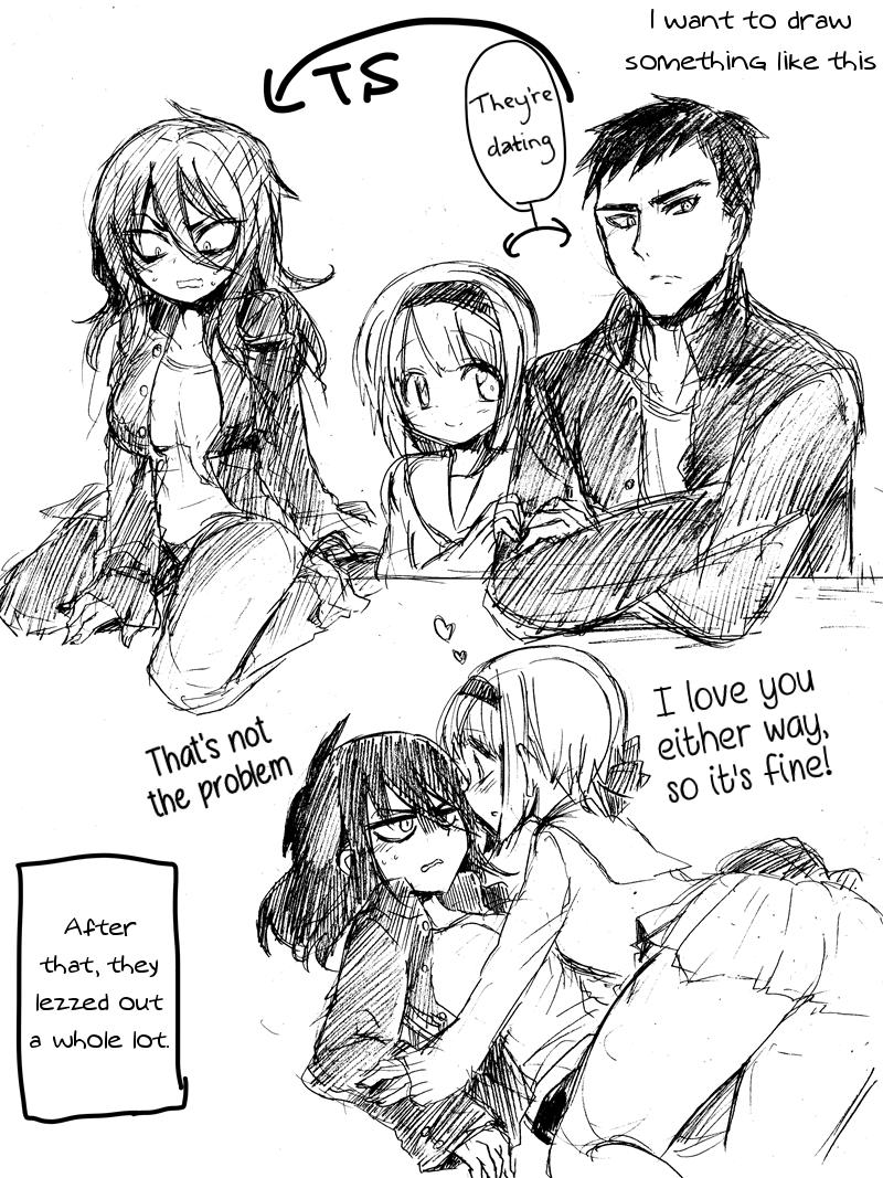 TS boyfriend and the bi girlfriend 1