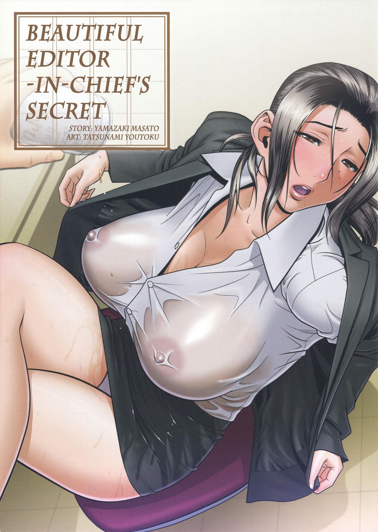 [Tatsunami Youtoku, Yamazaki Masato] Bijin Henshuu-chou no Himitsu | Beautiful Editor-in-Chief's Secret Ch. 1-3 [English] [Forbiddenfetish77, Red Vodka] [Decensored] 2