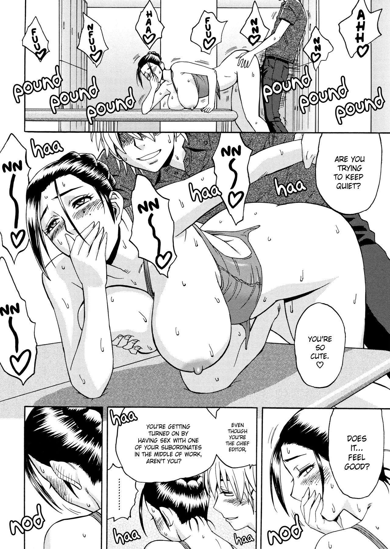 [Tatsunami Youtoku, Yamazaki Masato] Bijin Henshuu-chou no Himitsu | Beautiful Editor-in-Chief's Secret Ch. 1-3 [English] [Forbiddenfetish77, Red Vodka] [Decensored] 39