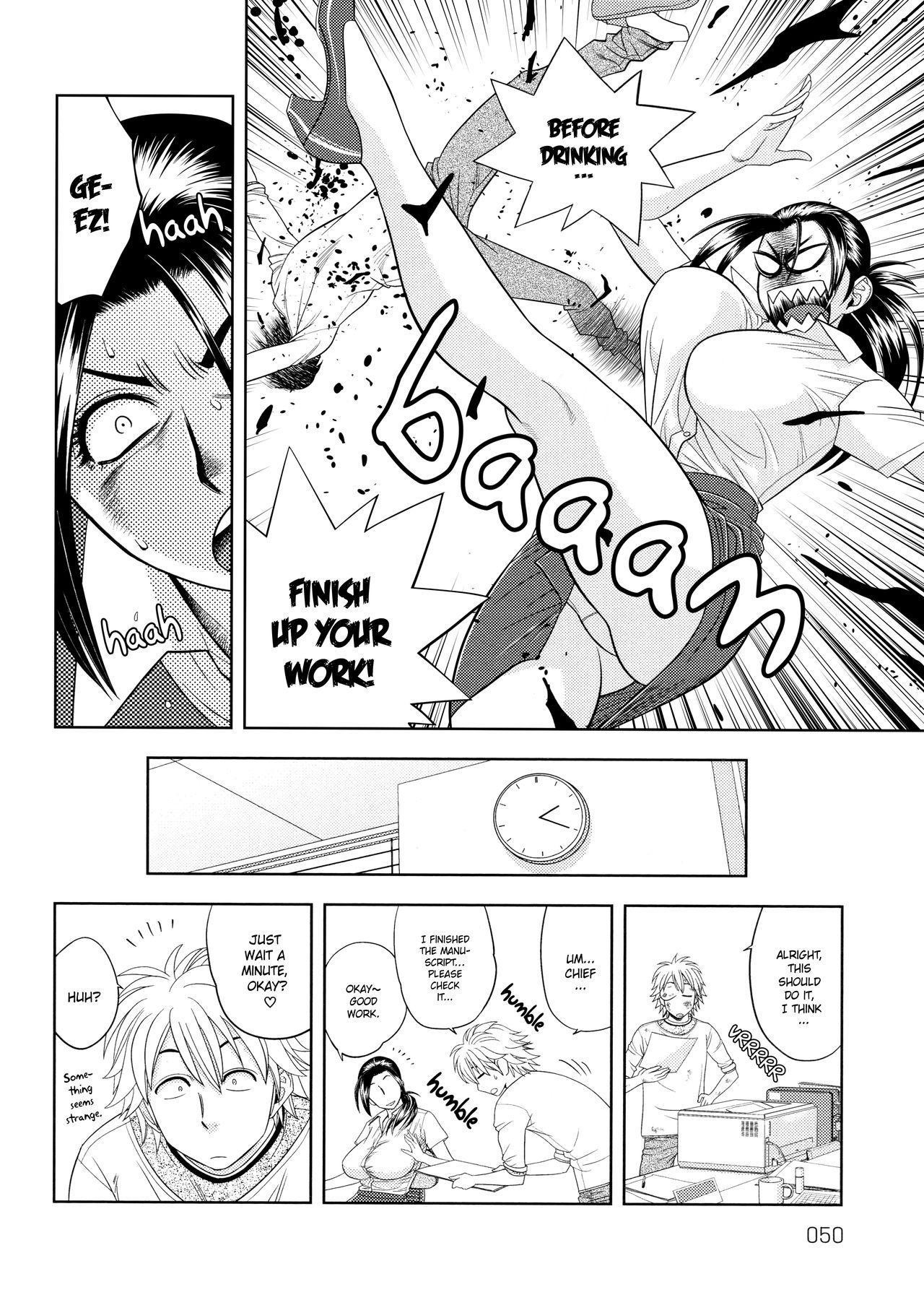 [Tatsunami Youtoku, Yamazaki Masato] Bijin Henshuu-chou no Himitsu | Beautiful Editor-in-Chief's Secret Ch. 1-3 [English] [Forbiddenfetish77, Red Vodka] [Decensored] 49