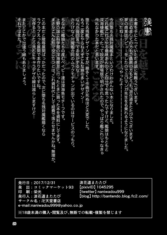 [Bantendou Shoten (Naniwadou Matatabi)] HYBREED ~Shinkai Tsuki Kanmusu Shussan Kiroku~ | HYBREED ~Abyss-Touched Shipgirl Birthing Record~ (Kantai Collection -KanColle-) [English] [NullTranslator] [Digital] 24