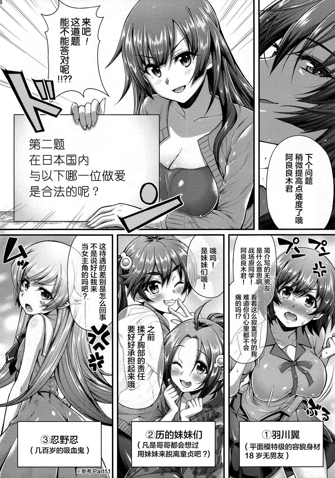 Pachimonogatari Part 12: Koyomi Reform 8