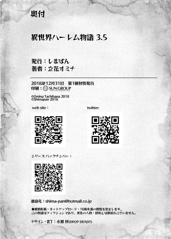 [Shimapan (Tachibana Omina)] Isekai Harem Monogatari - Tales of Harem 3-3.5 [Digital] 61