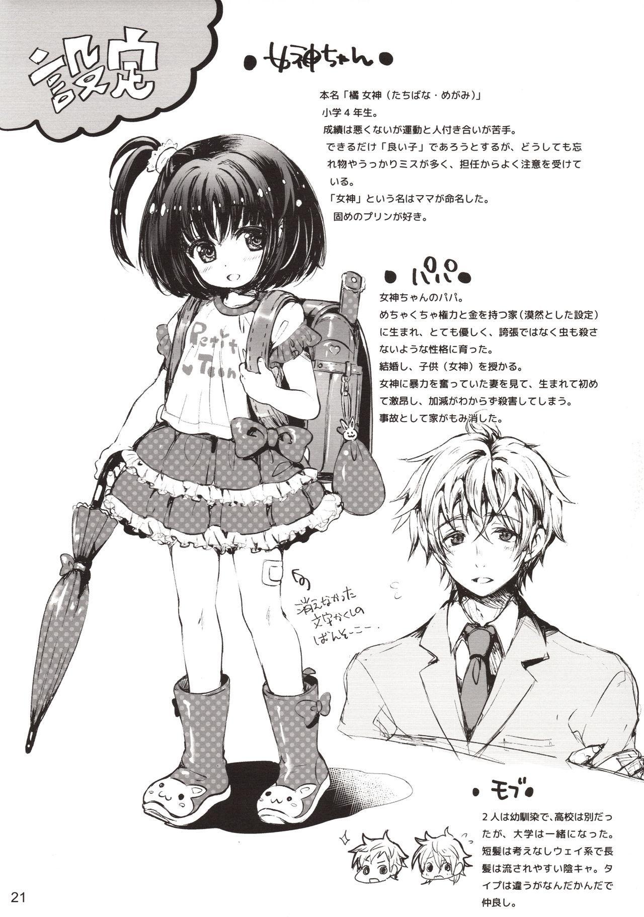 Rakugaki Benjo no Megami-chan 19
