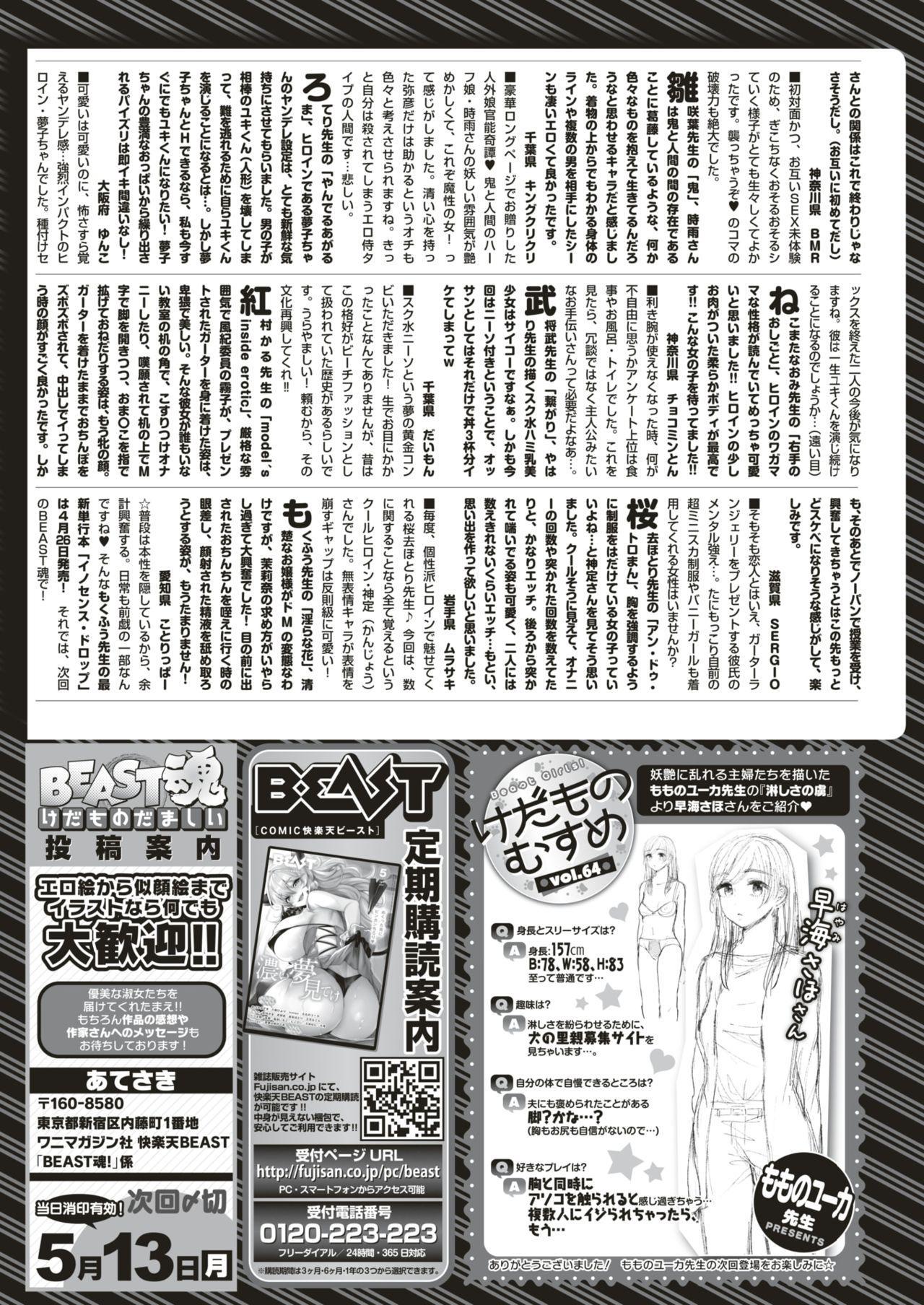 COMIC Kairakuten BEAST 2019-05 285